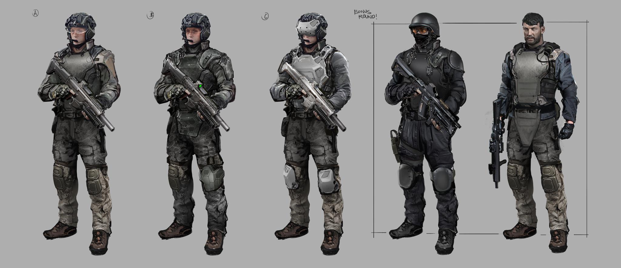 UN Soldier III
