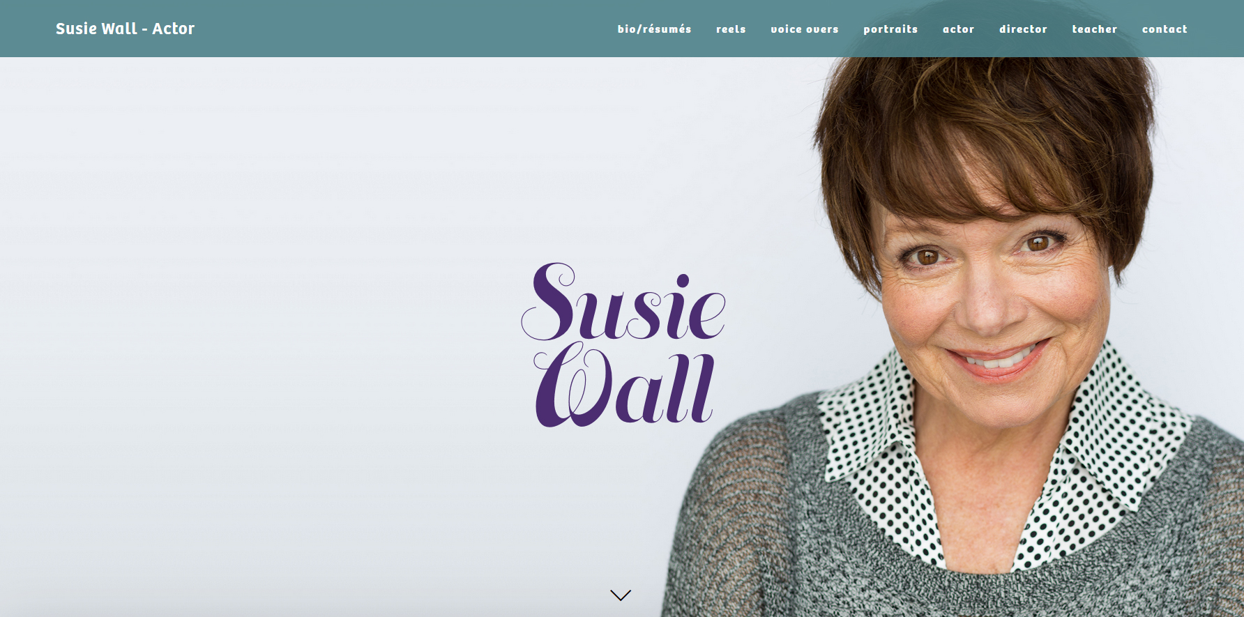 """Susie has worked extensively in Regional Theatres, Film, TV & Radio. In St Louis she has worked at The Repertory Theatre, The Shakespeare Festival, Stages, Insight Theatre, Hotcity, Stray Dog and The New Jewish Theatre. She has performed Regionally at The Cincinnati Playhouse in """"Voice of the Prairie"""" & """"Inherit the Wind""""."""
