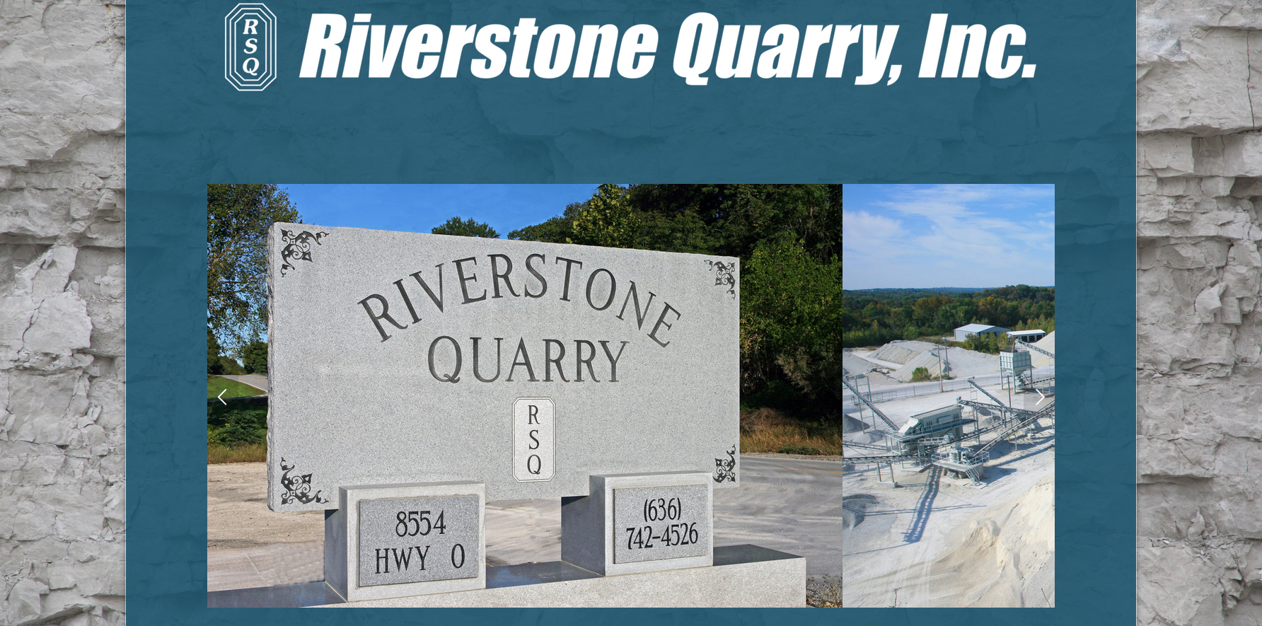 Riverstone Quarry, Inc. is a family owned Missouri limestone aggregate producer, specializing in serving the surrounding community with reliable service and quality materials.