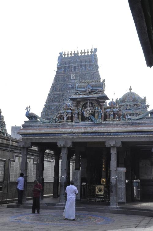 the Kapaleeshwara temple,Mylapore ; Chennai