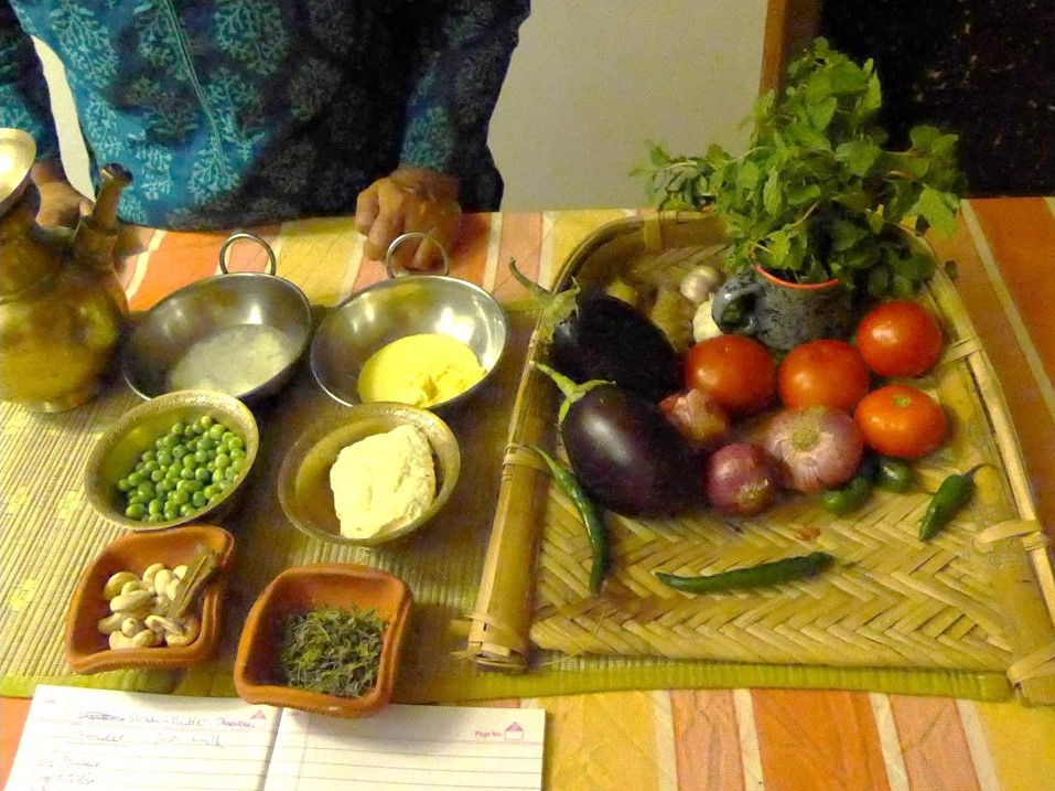 Cooking sessions with Chef Renu
