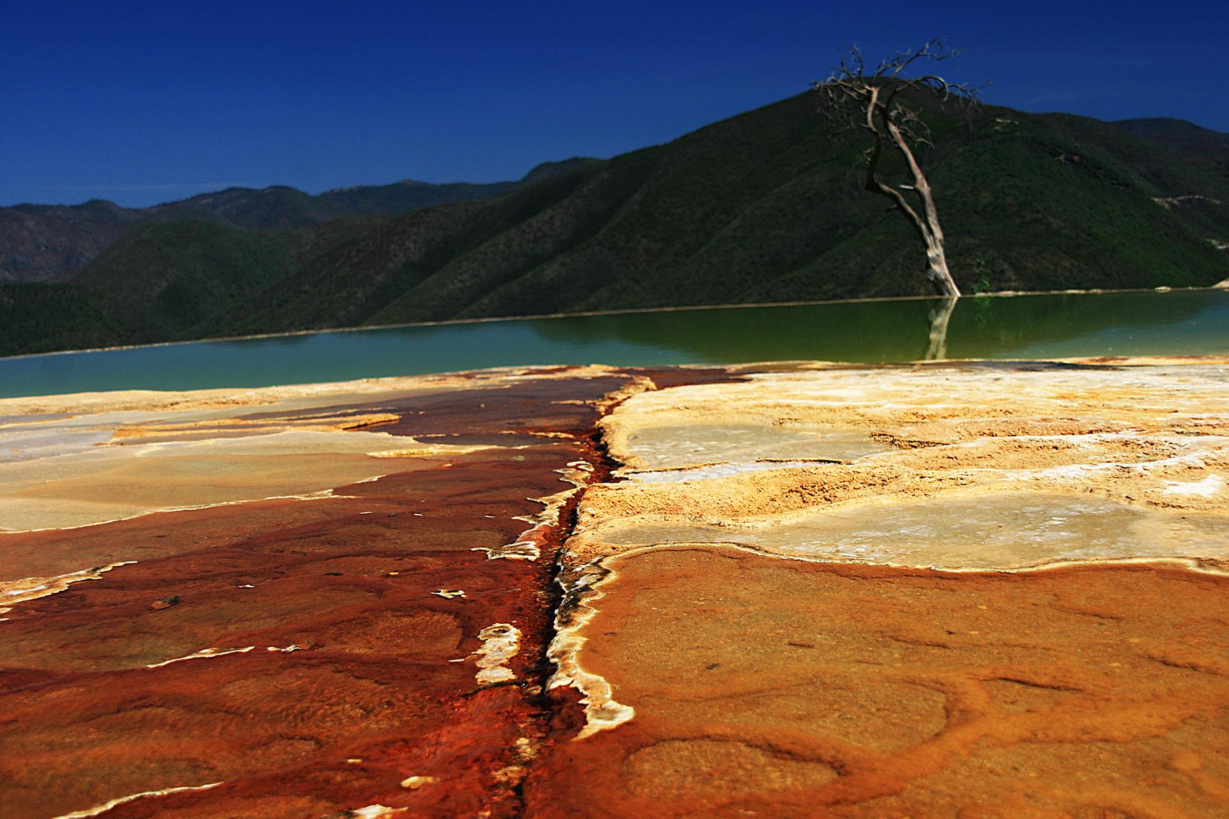 Mexique, Hierve el agua. 2008