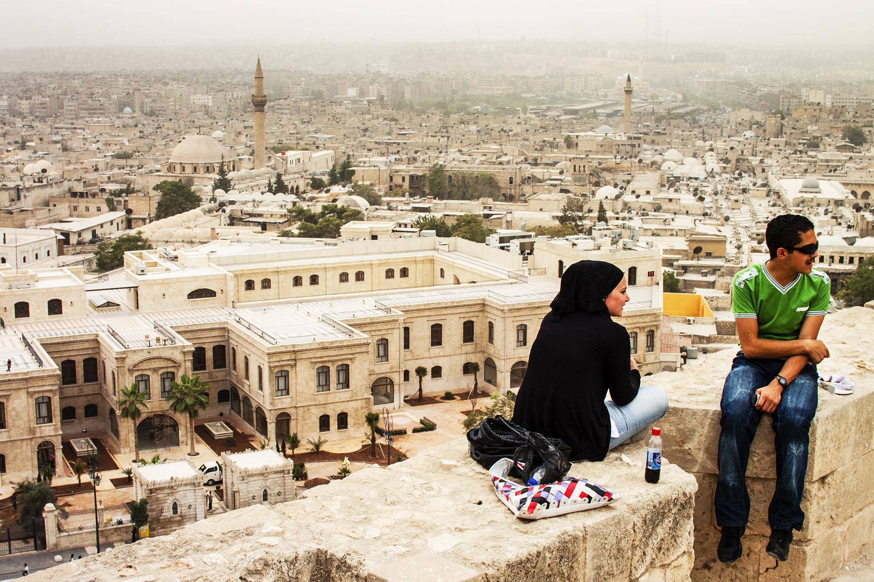 Syrie, Alep. 2010