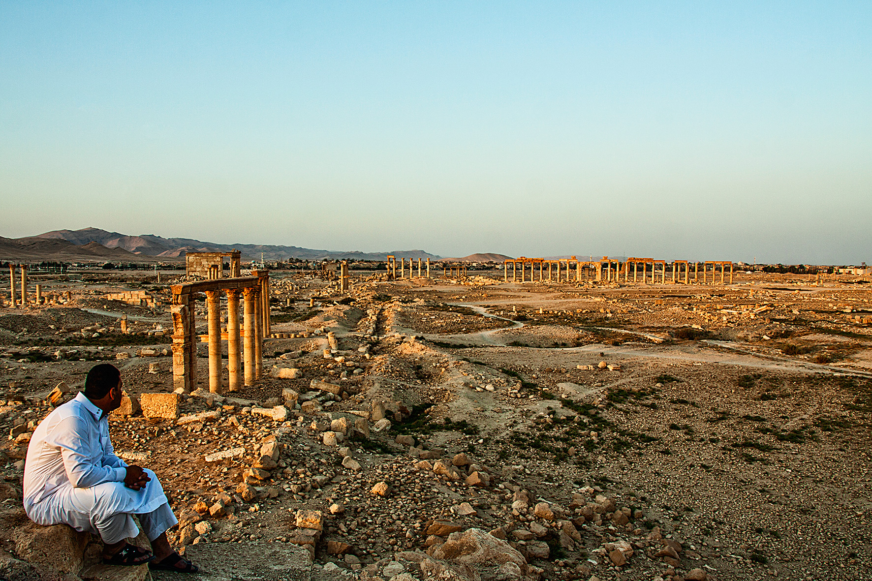 Syrie, Palmyre. 2010