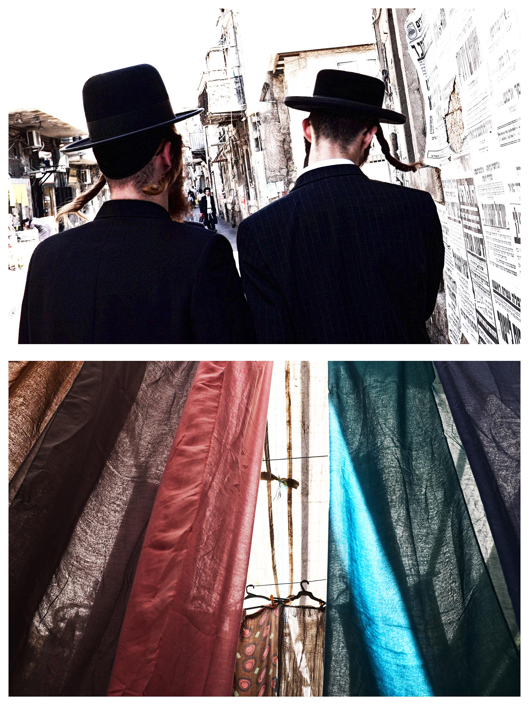 #au milieu un mur 3. Jérusalem / Hébron