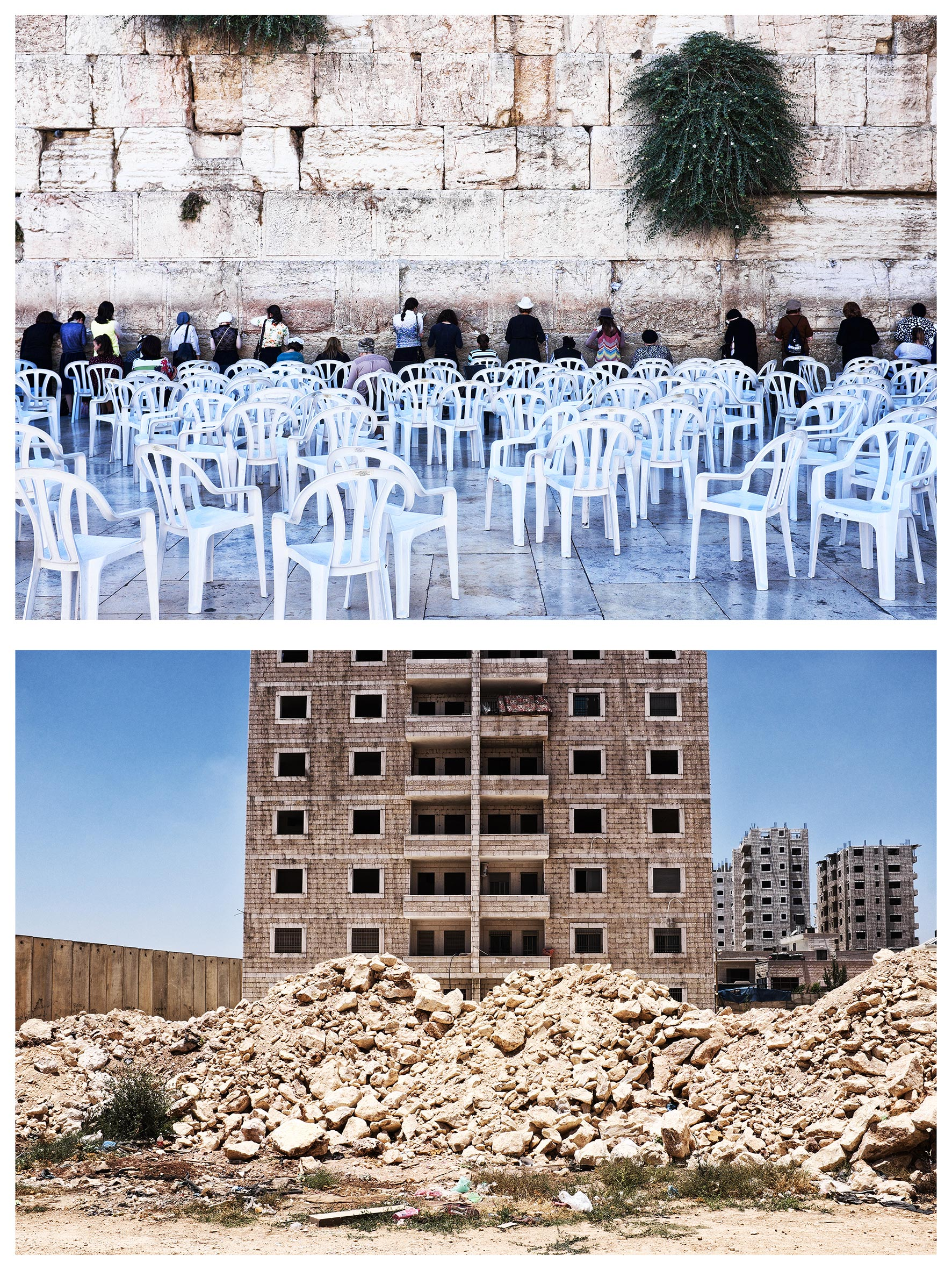 #au milieu un mur 4. Jérusalem / Ramallah
