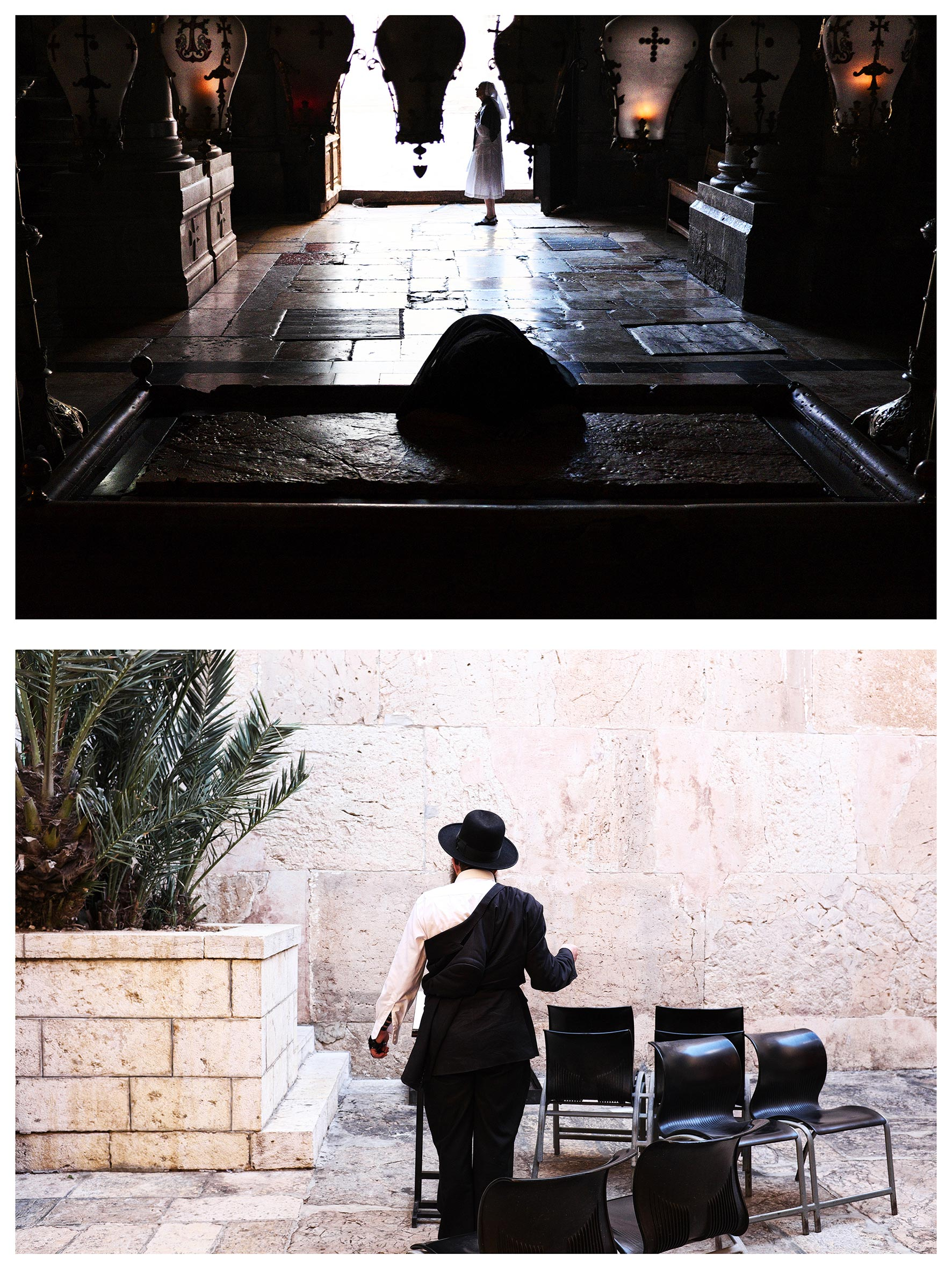 #au milieu un mur 9. Jérusalem / Hébron