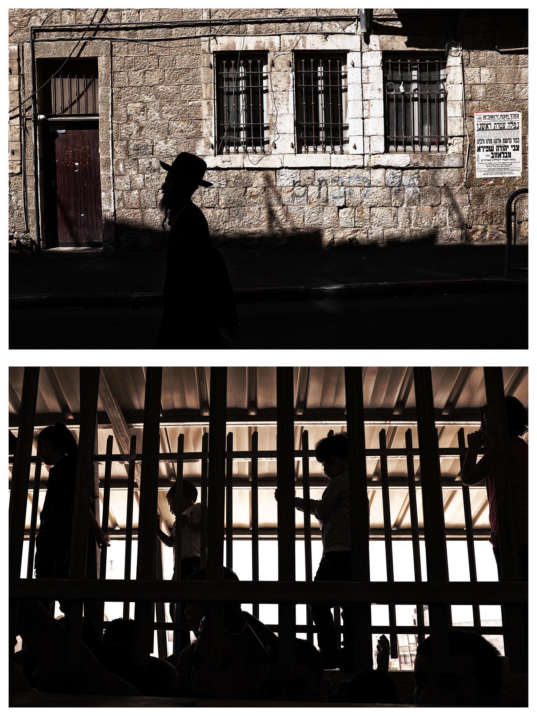 #au milieu un mur 5. Jérusalem / Béthléem