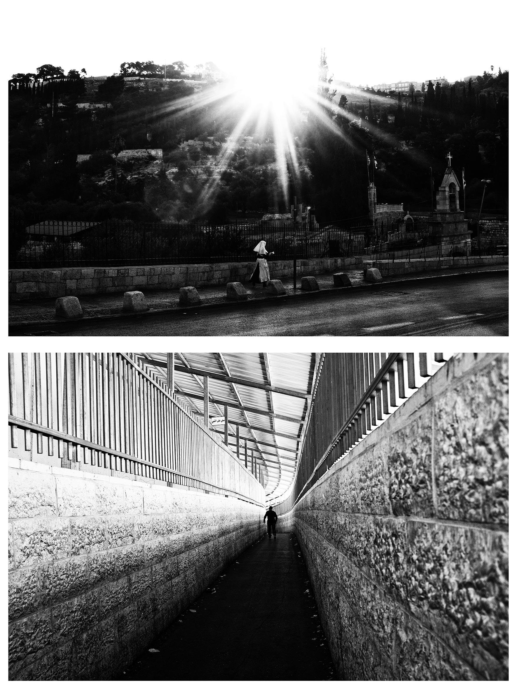 #au milieu un mur 6. Jérusalem / Béthléem