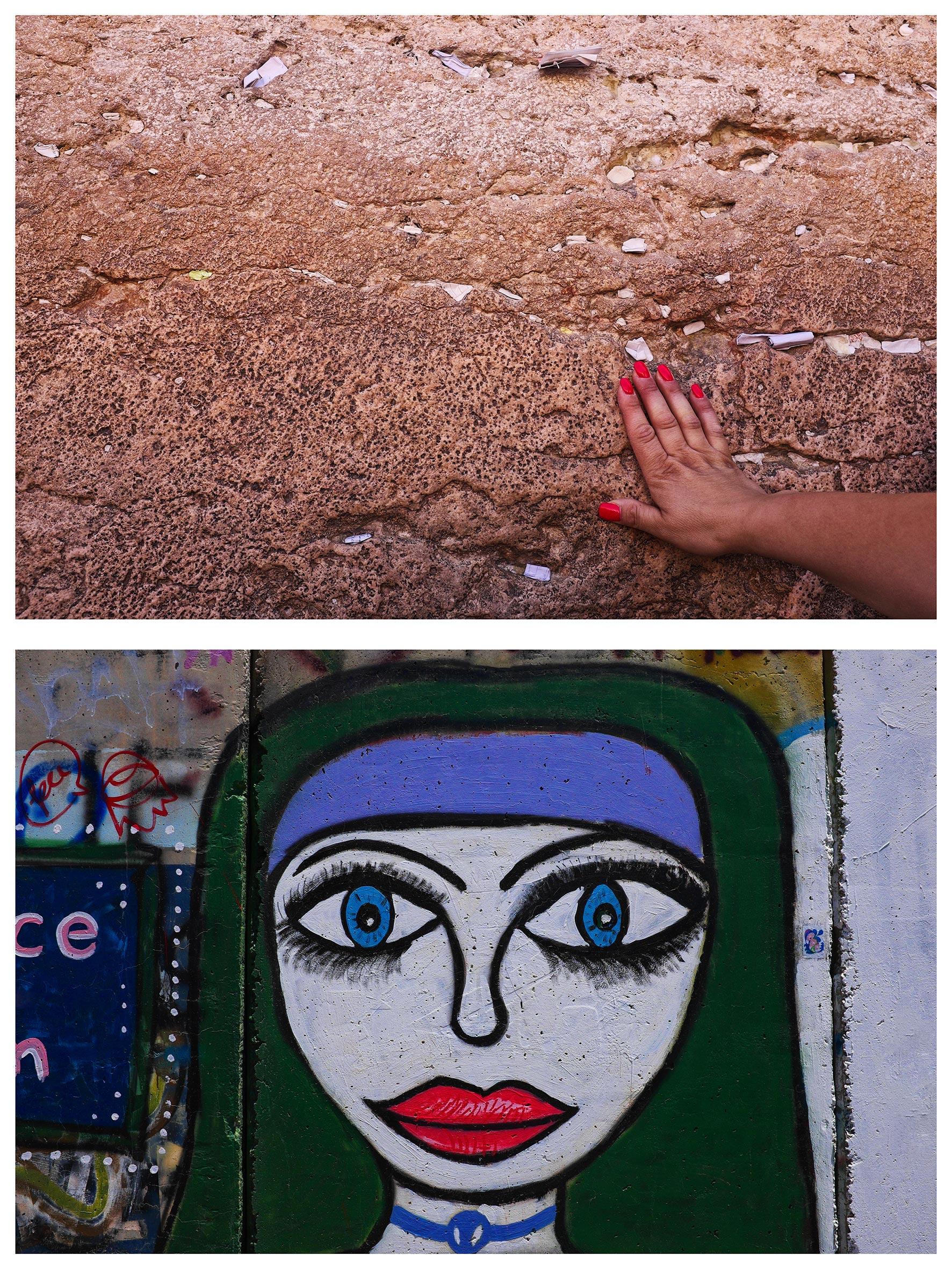 #au milieu un mur 11. Jérusalem / Ramallah