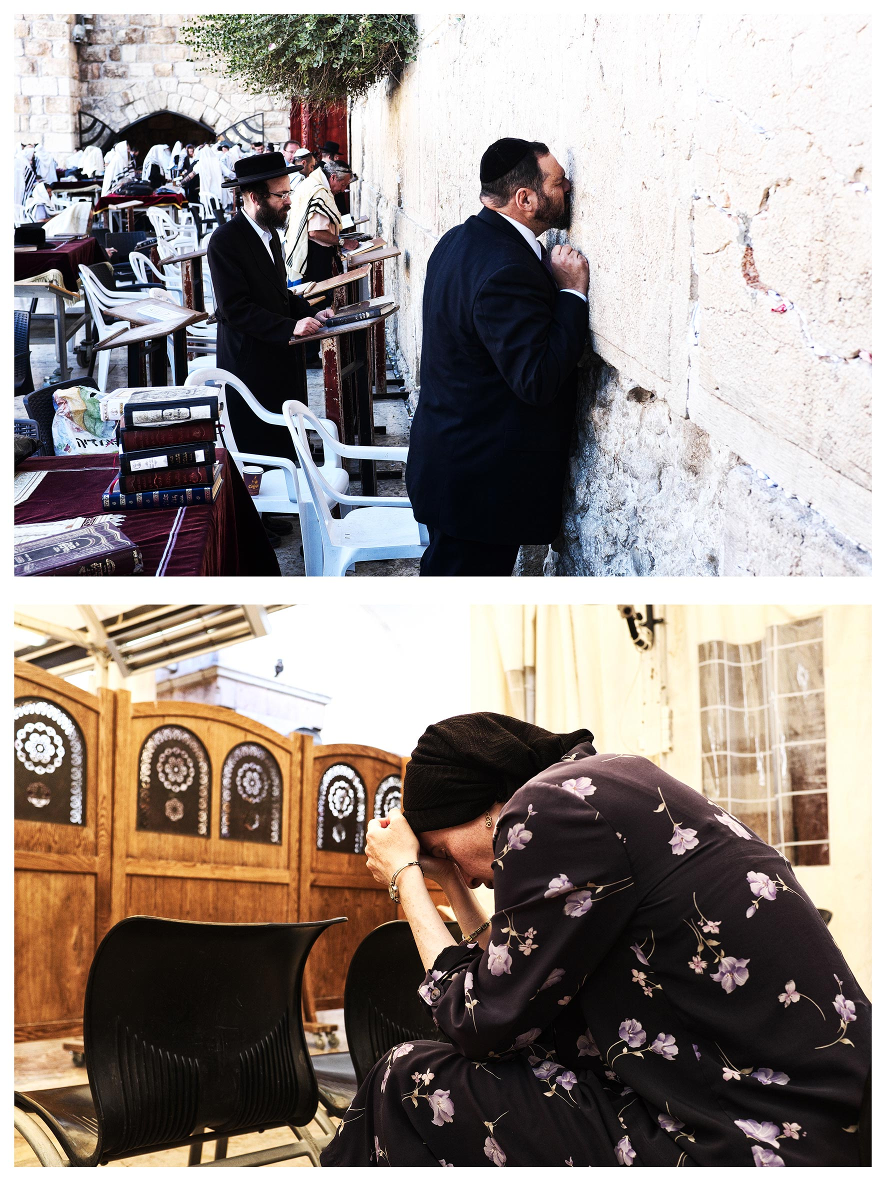 #au milieu un mur 10. Jérusalem / Hébron