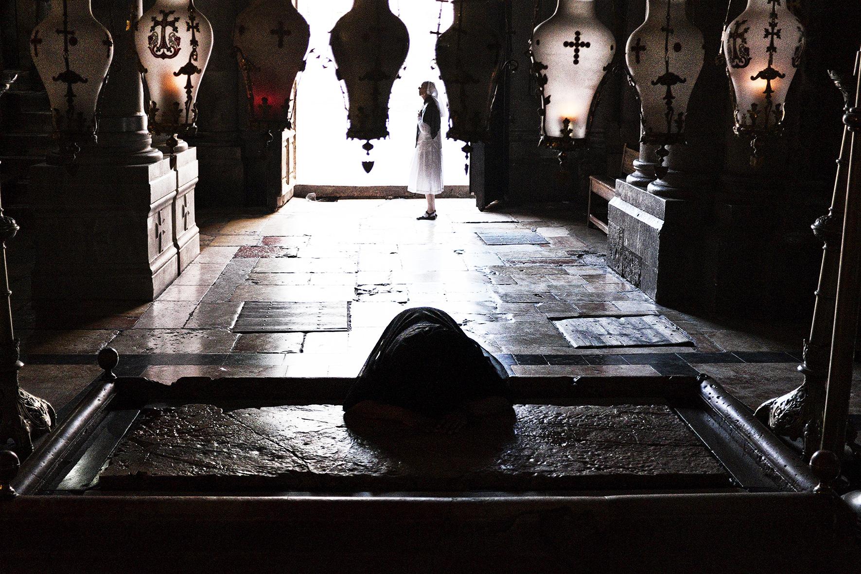 Israël, Jérusalem, Eglise du Saint-Sépulcre. 2015