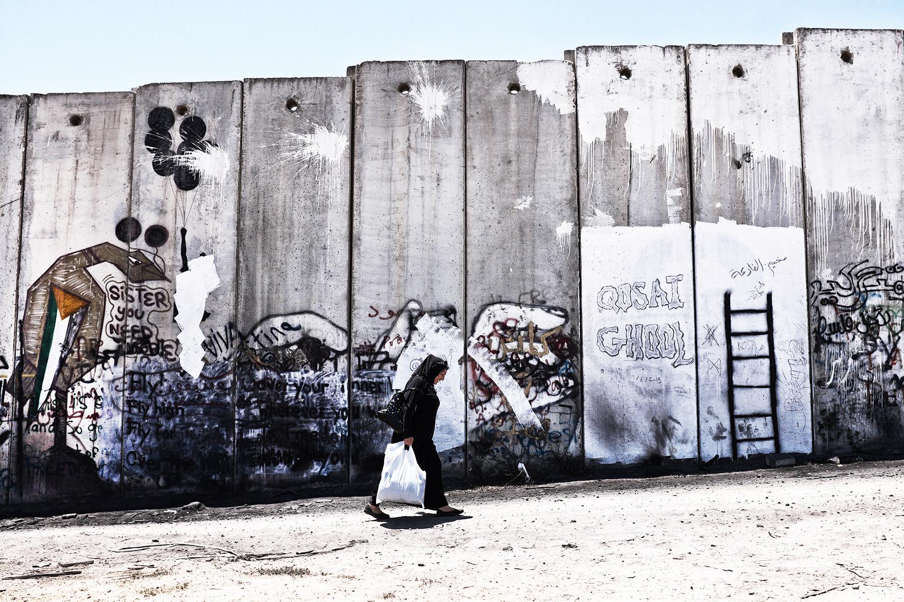 Palestine, Qalandiya. 2015
