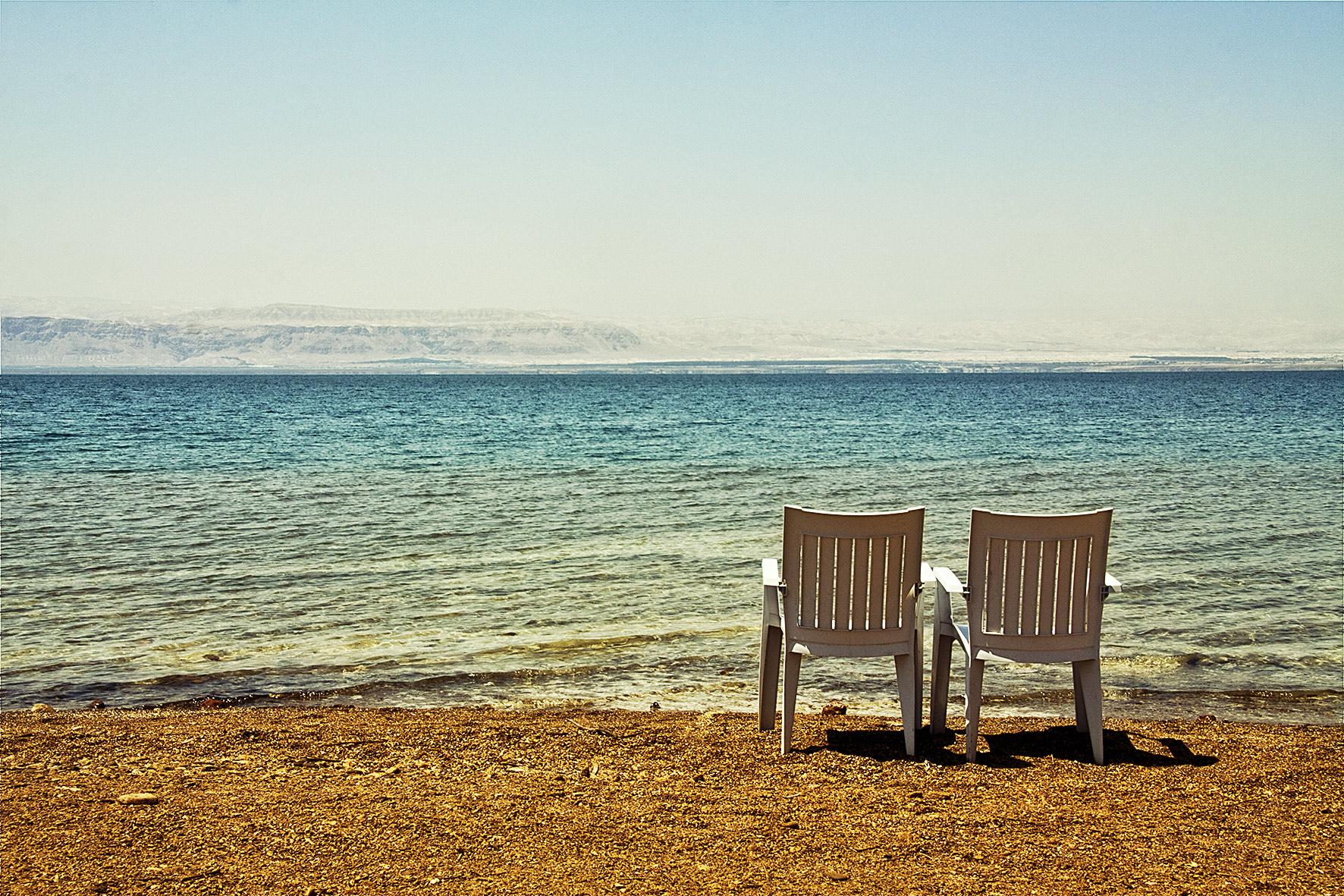 Jordanie, la mer morte. 2010