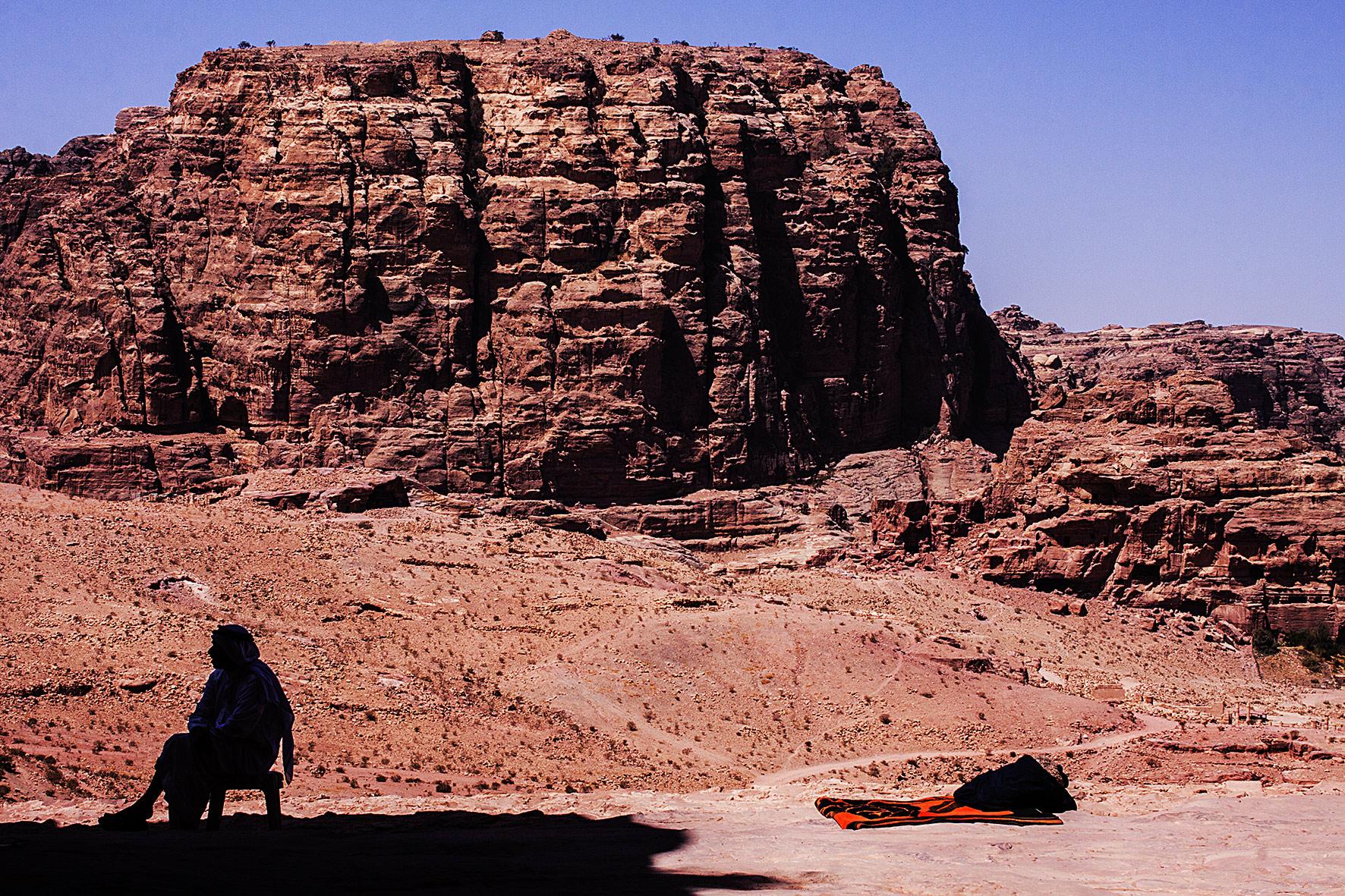 Jordanie, Petra. 2010