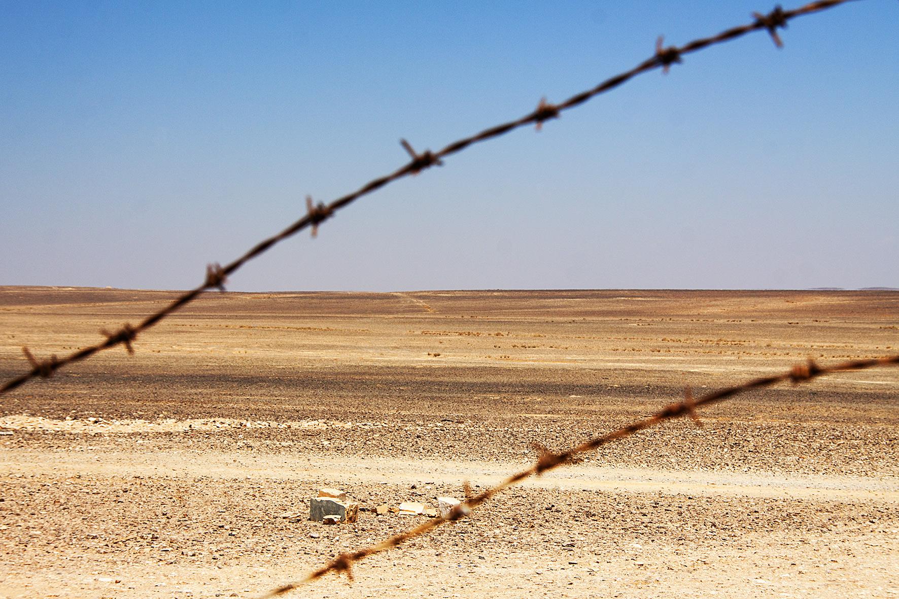 Jordanie, Azraq. 2010