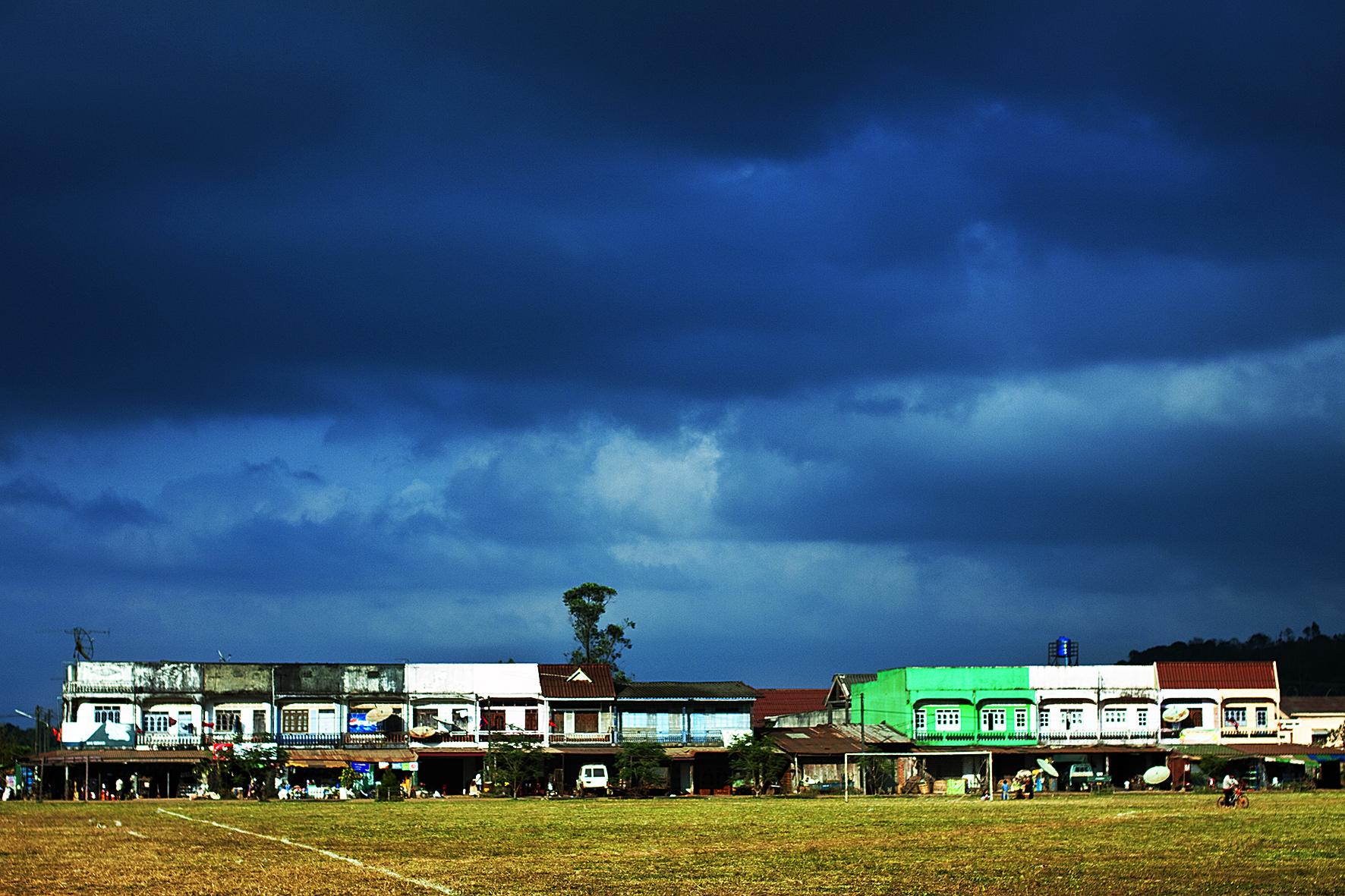 Laos, Paksé. 2009