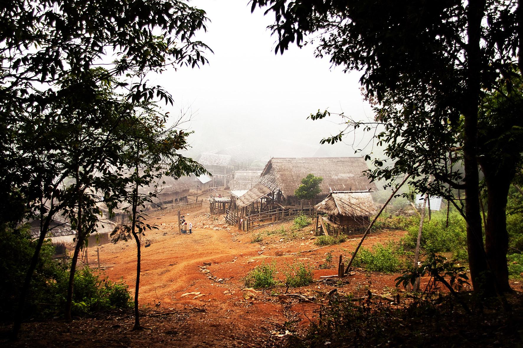Laos, Muang Sing. 2009