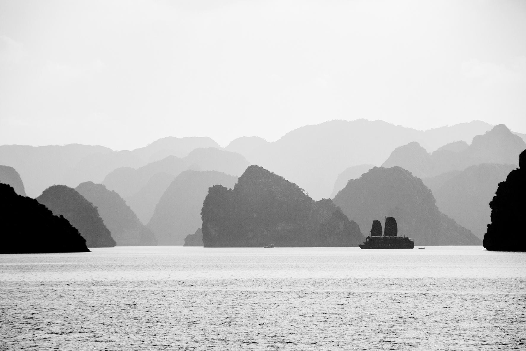 Vietnam, Baie d'Halong. 2009