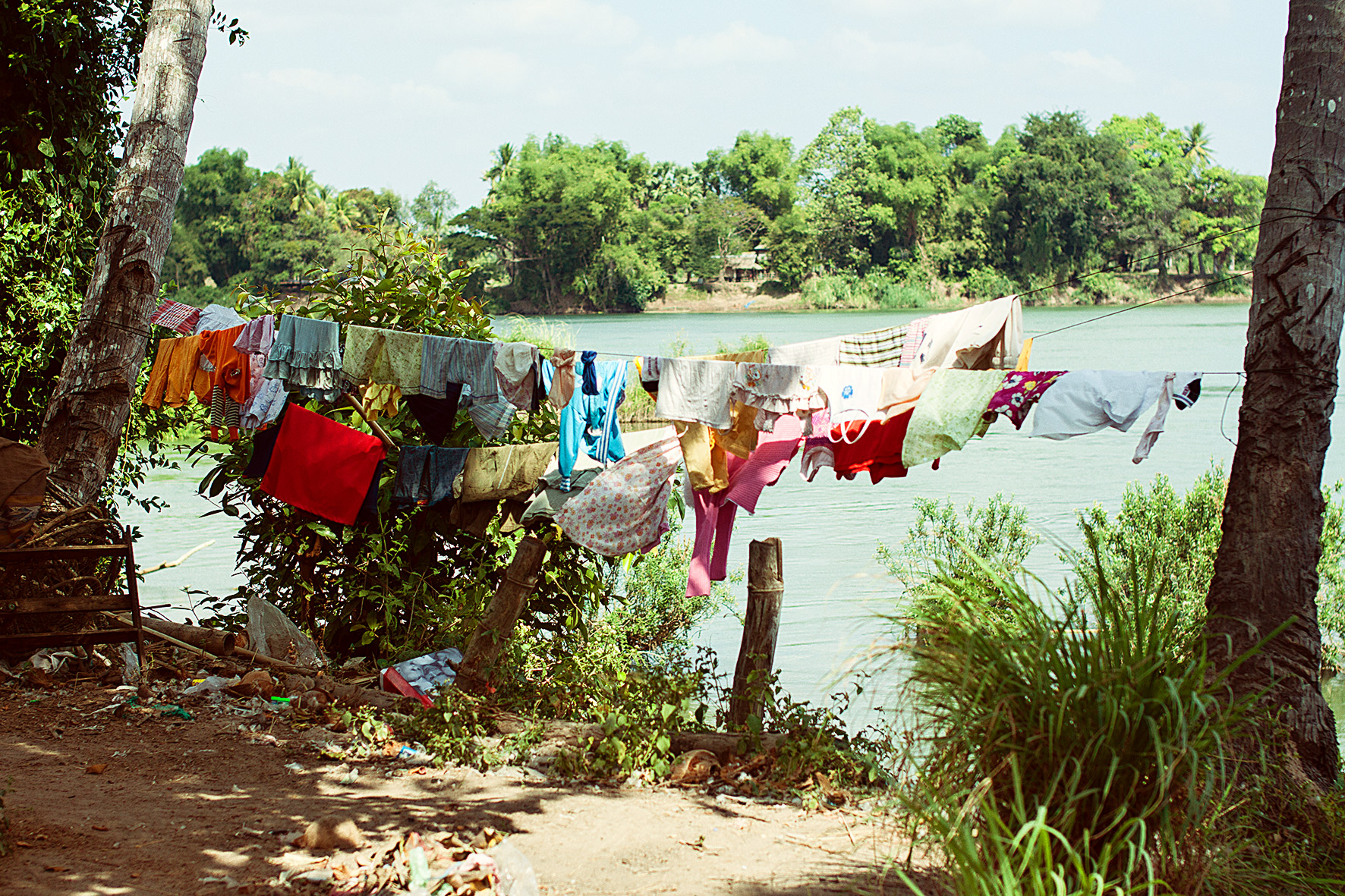 Laos, Don Det. 2009