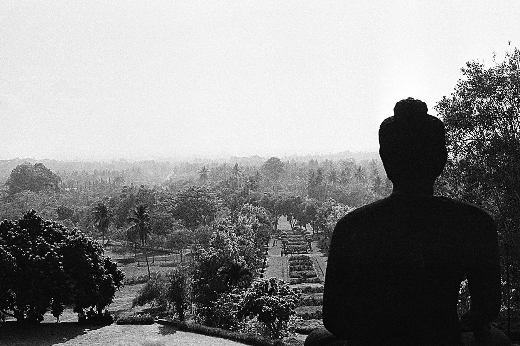 Indonésie, Borobudur. 2004