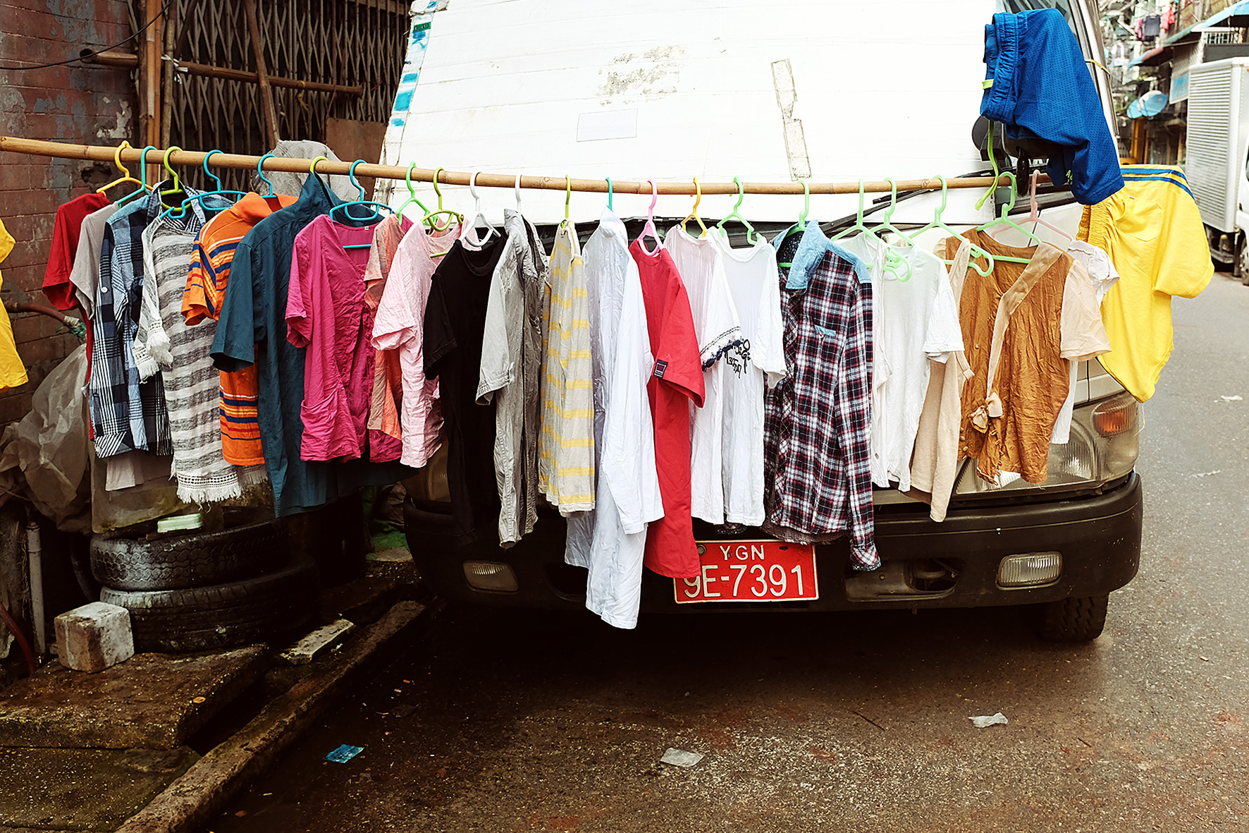 Myanmar, Yangon. 2016