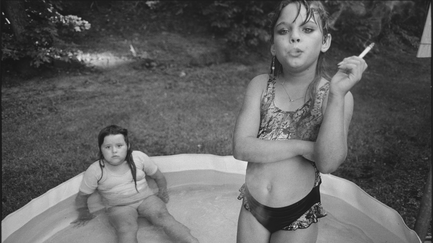 Amanda and Her Cousin by Mary Ellen Mark