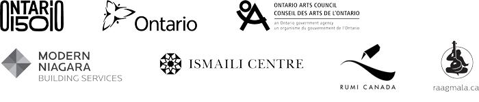 Ontario 150; Ontario; Ontario Arts Council; Modern Niagara Building Services; Ismaili Centre, Toronto; Rumi Canada; Raag-Mala Toronto