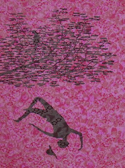 Stephen Chambers RA, Medlar Meddler, 2010    Size (cm - unframed):  57.5 x 45  Technique:  Screenprint  Materials:  Somerset TP 300gsm  Edition size:  50  Publisher:  The Artist & The Print Studio  Copyright:  The Artist   P.O.A.