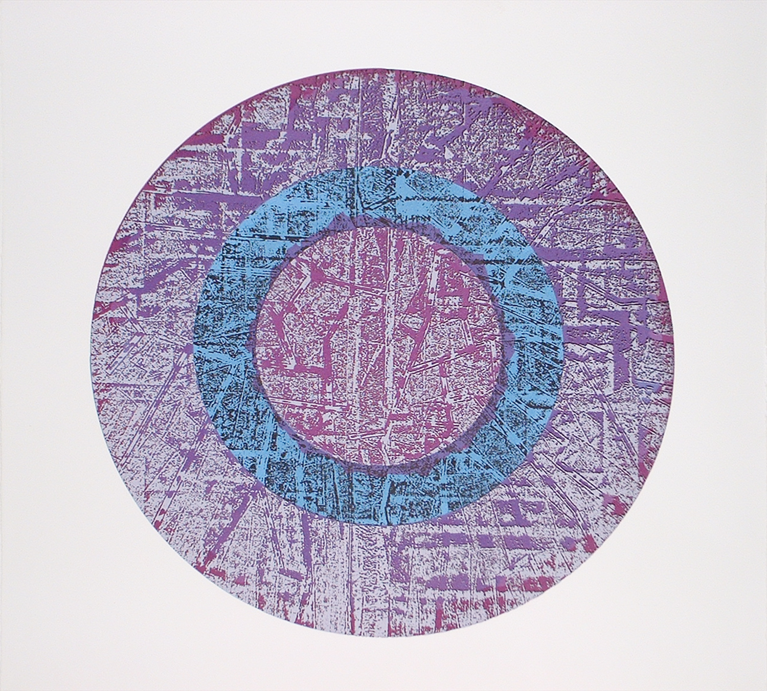 Berrisford Boothe, Untitled    Date:   2006   Size (cm - unframed):   51.5 x 51.5   Technique:   Screenprint   Materials:   Somerset UK Textured   Edition size:   20   Publisher:   Berrisford Boothe   Copyright:   The Artist