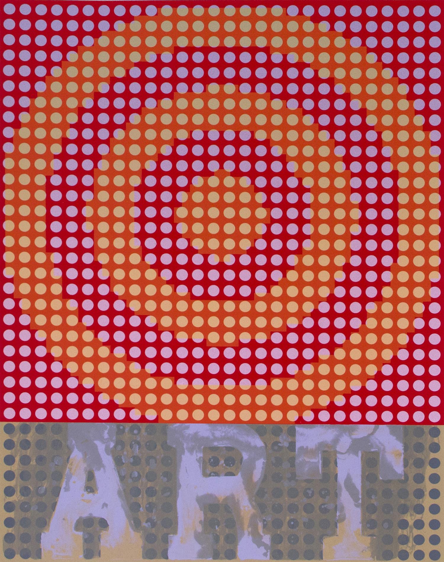 Kip Gresham, The End of Art    Date:  2011   Size (cm - unframed):  84 x 66   Technique:  Screenprint   Materials:  Somerset Velvet 300gsm   Edition size:  15   Publisher:  The Print Studio   Copyright:  The Artist    P.O.A.