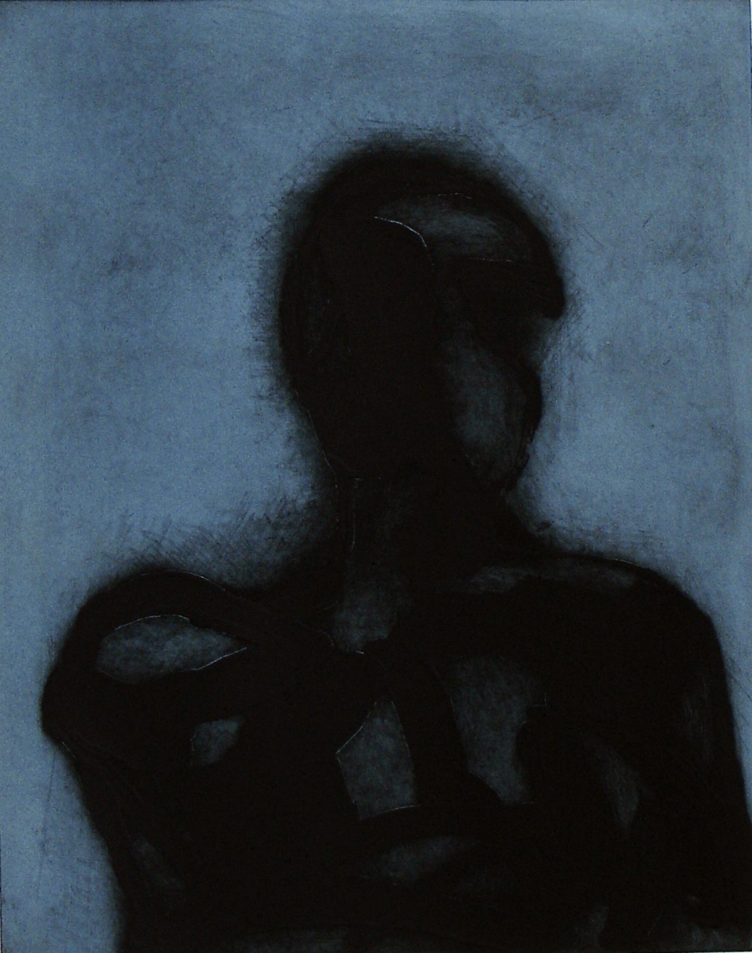 Peter Griffin, Blue Carborundum    Date:  2007   Size (cm - unframed):  76 x 55   Technique:  Carborundum Etching & Screenprint   Materials:  Moulin Du Gue 300gsm   Edition size:  5   Publisher:  The Artist   Copyright:  The Artist    P.O.A.