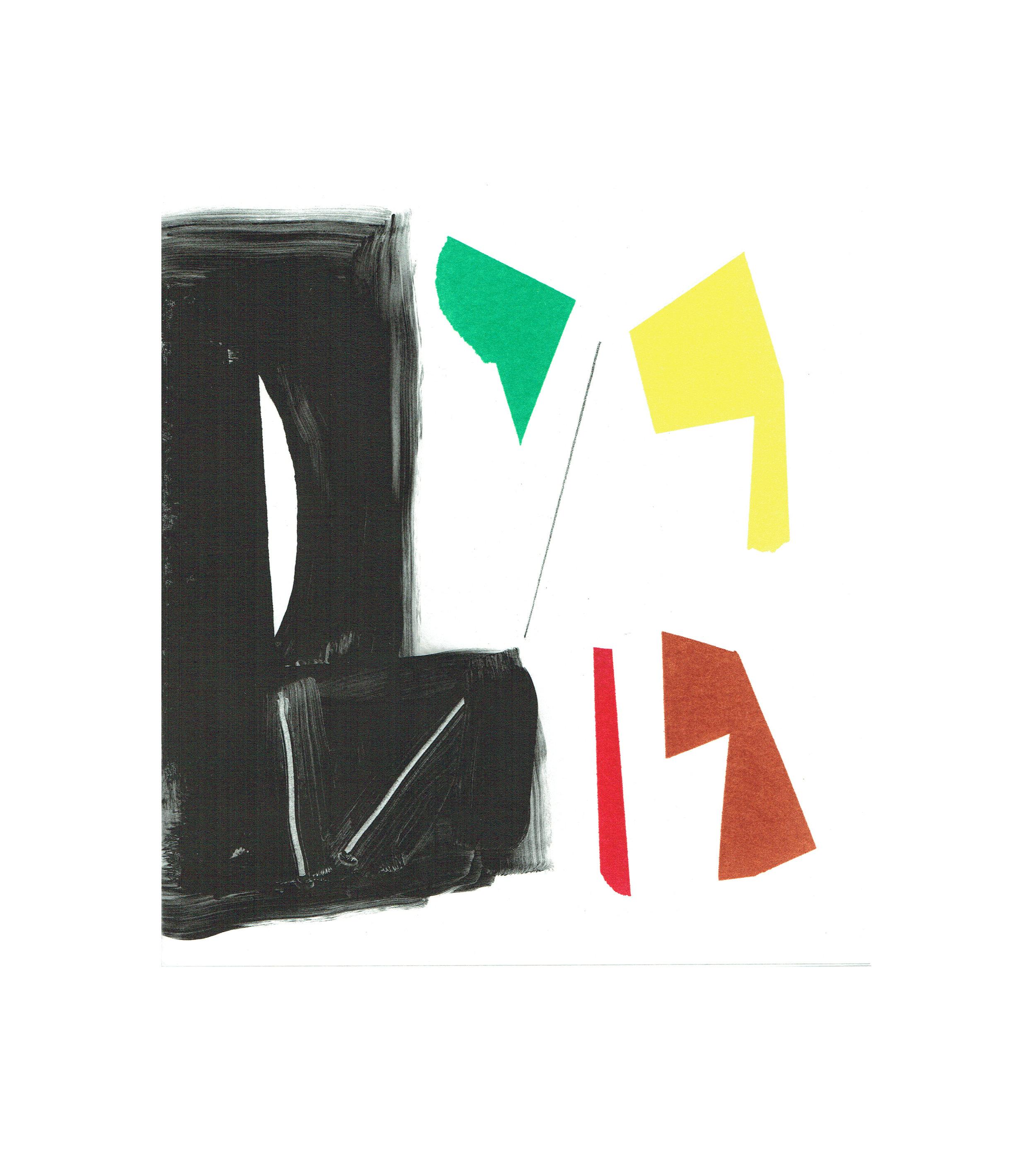 John McLean, Merry Go Round 6    Date: 2016  Size (cm - unframed):  38.2 x 34.4  Technique:  2 plate a la poupee etching  Materials:  Somerset Valvet 300gsm  Edition size:  20  Publisher: The Print Studio  Copyright: The Artist   POA