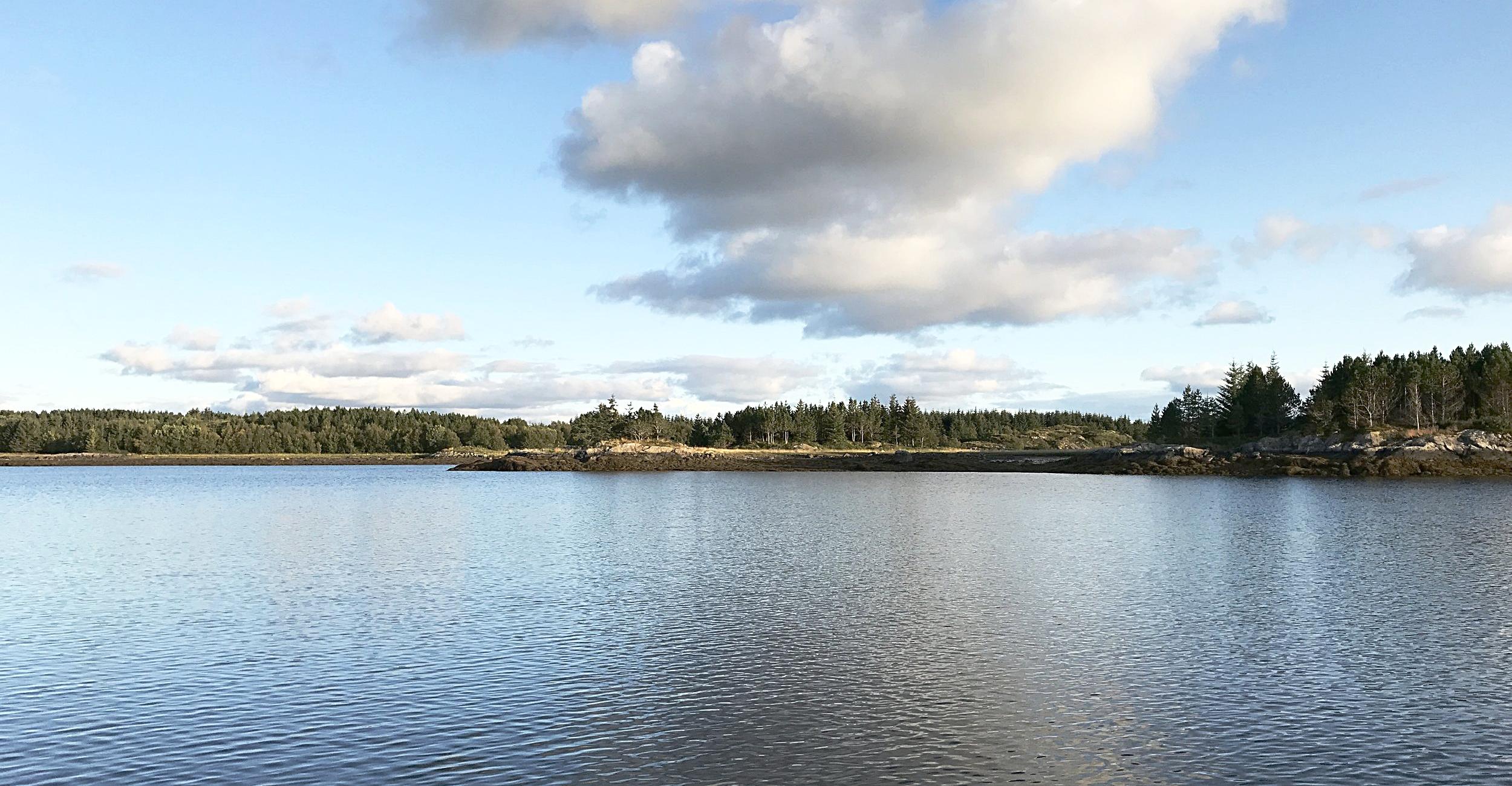 Fine områder for turer og fiske