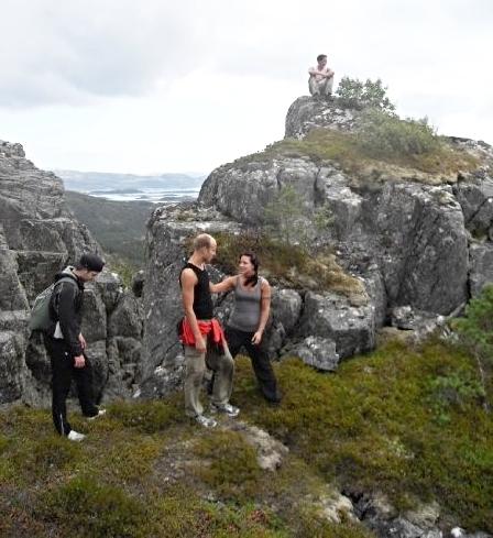 Flere små topper i området som gir en flott utsikt