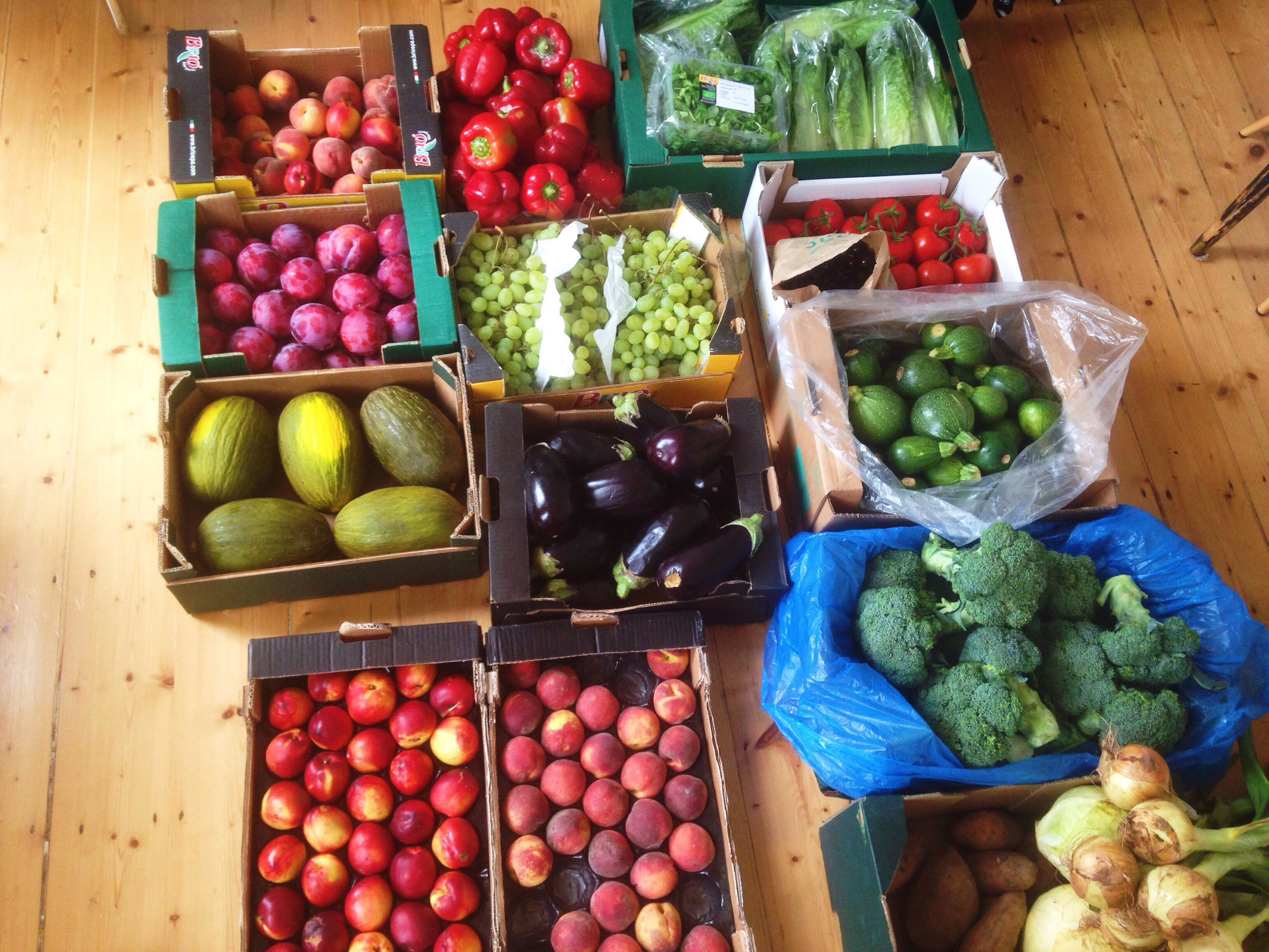Organic Fruit Haul
