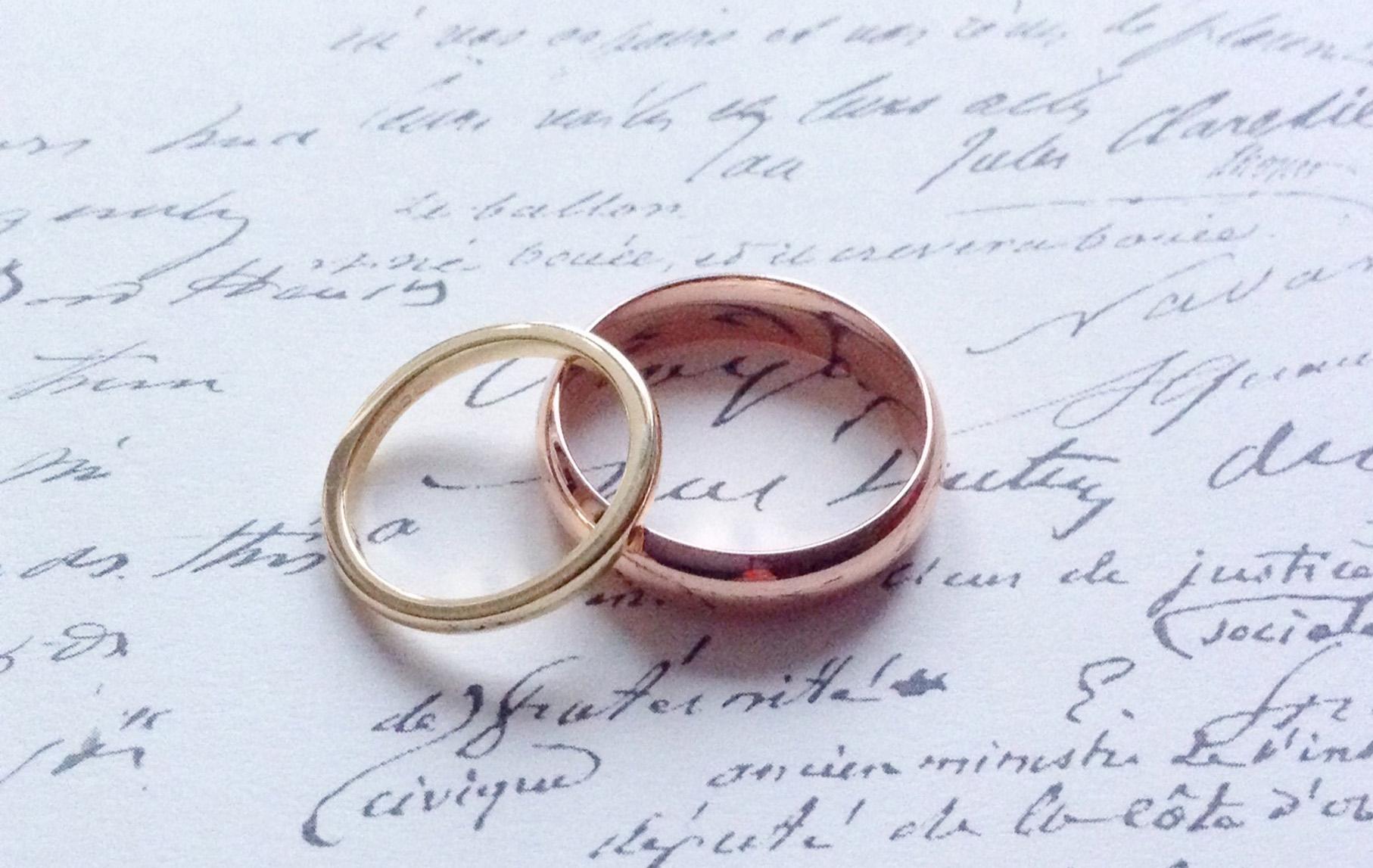 Bespoke Jewellery - Wedding Rings