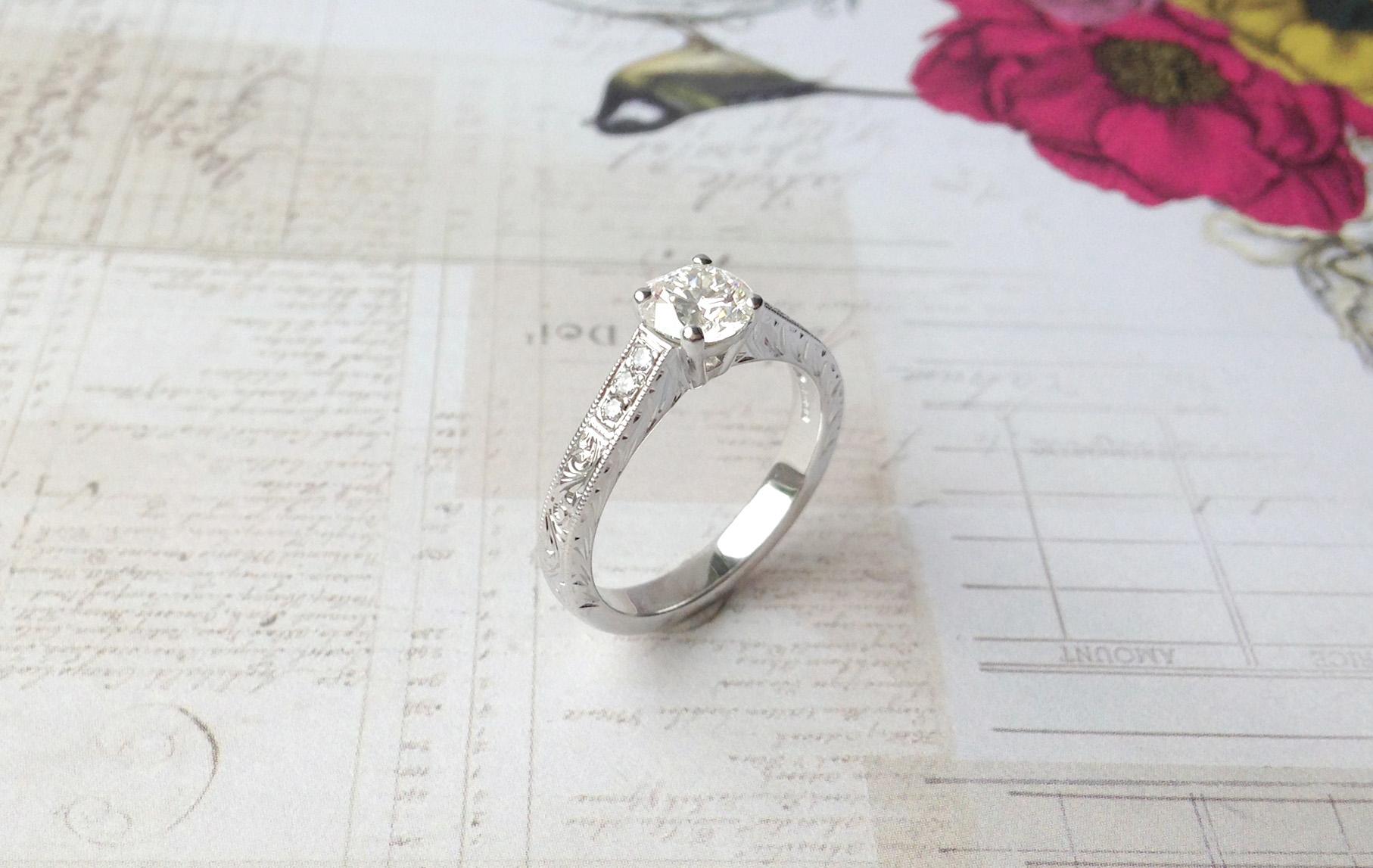 Bespoke Jewellery - Unique Engagement Ring (1)