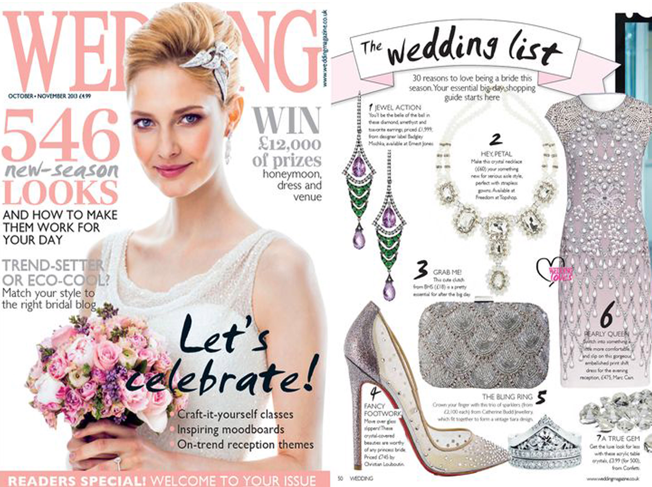 wedding magazine october 2013
