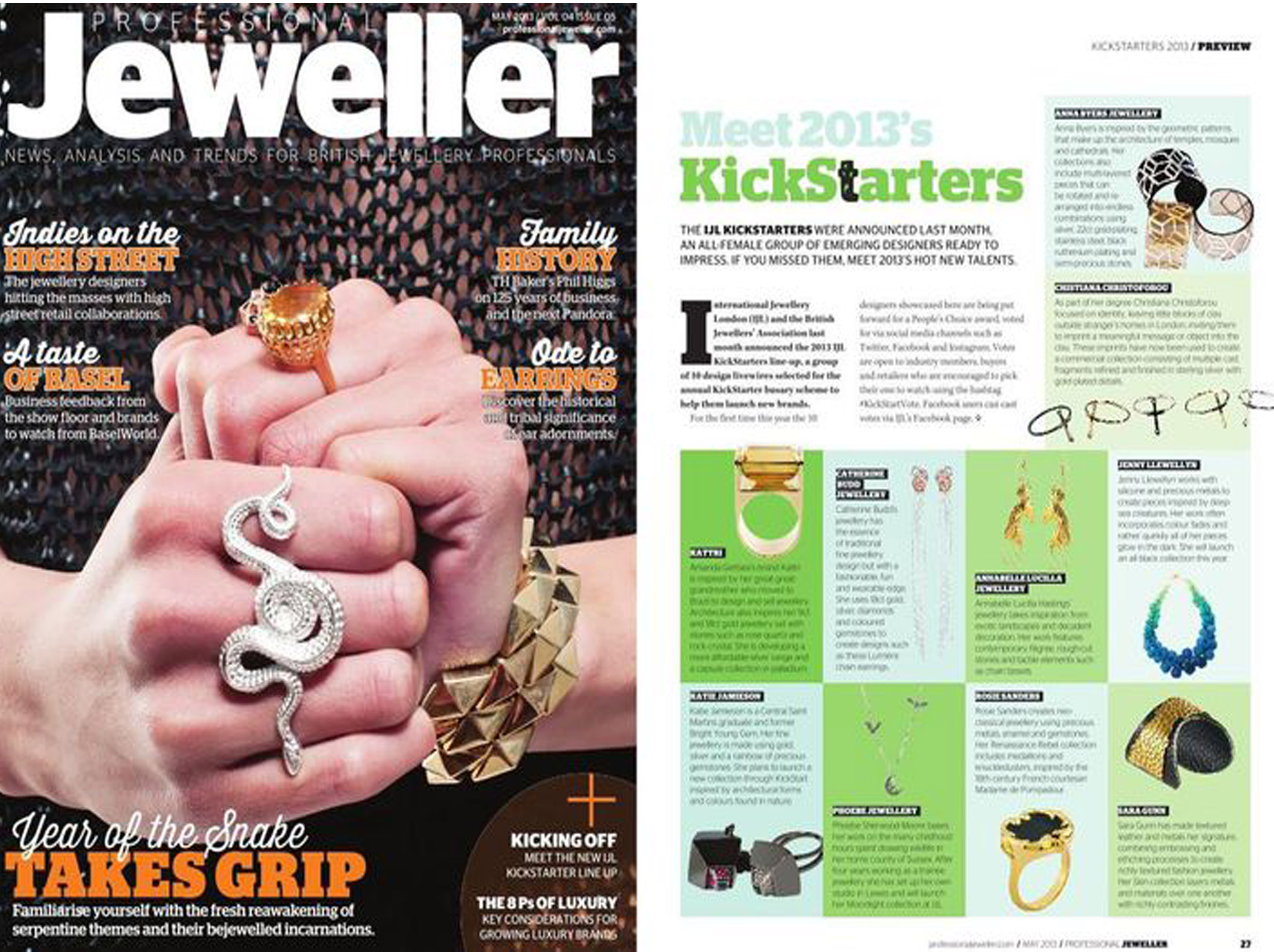 Professional Jeweller May 2013