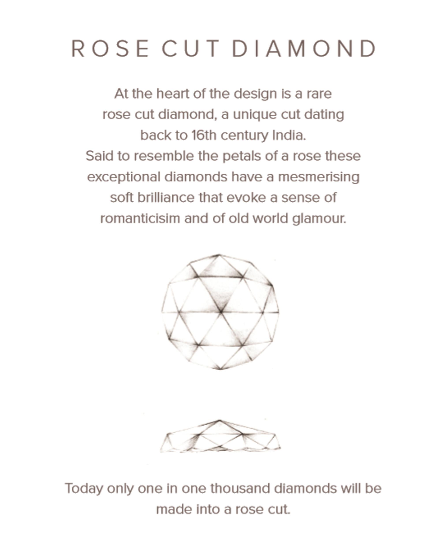 Valentina Rose Cut Diamond