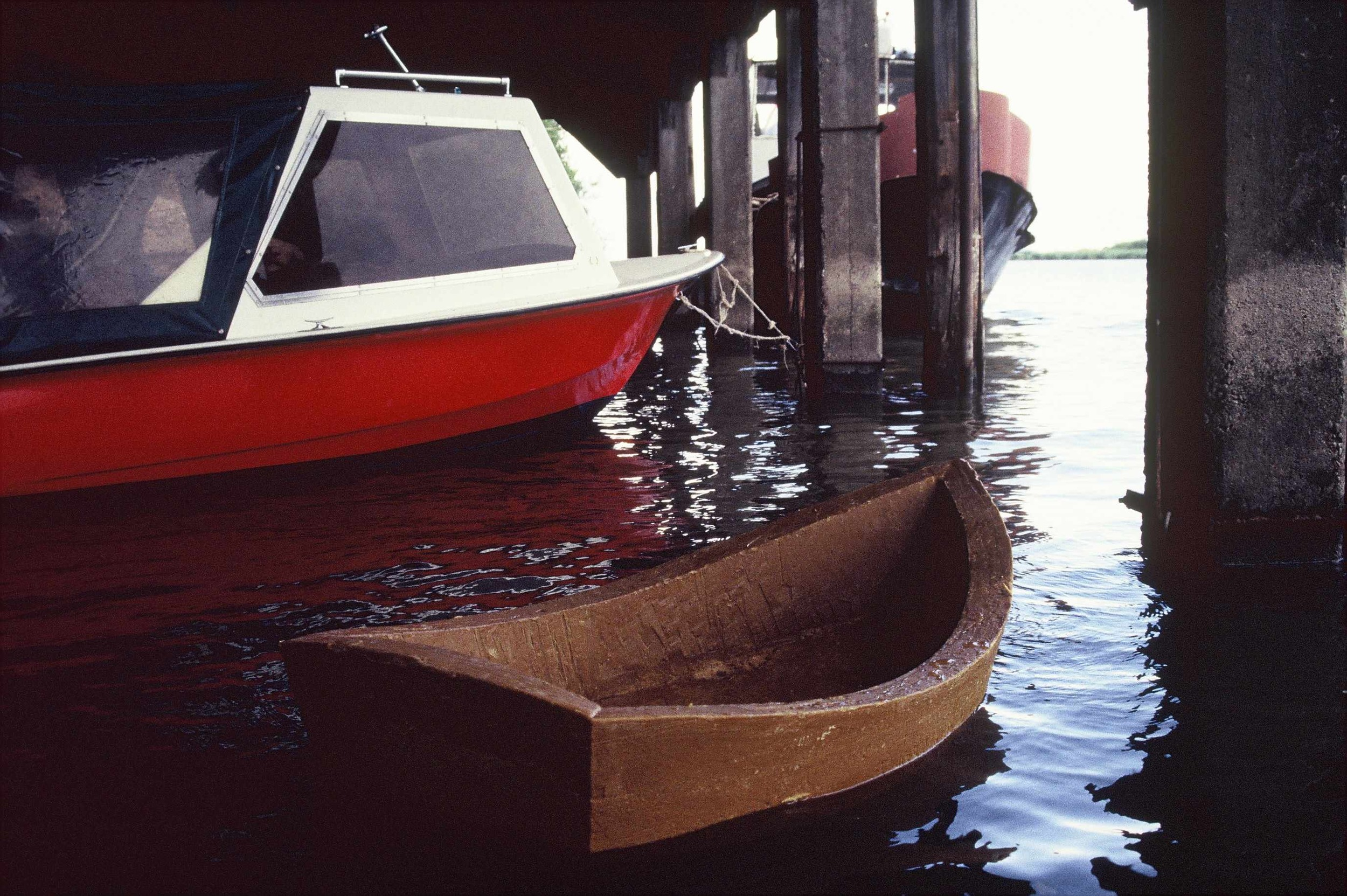 Boat, beeswax