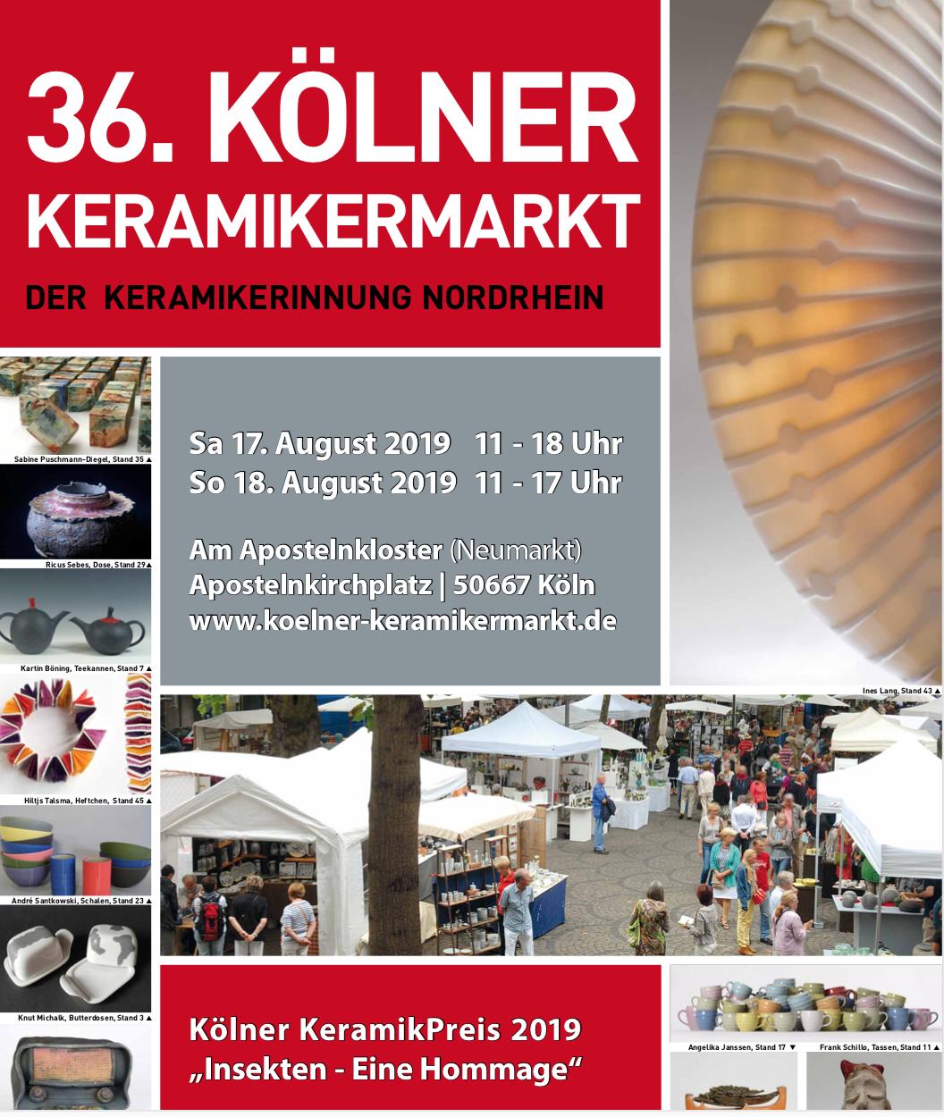 Kölner Keramikermarkt