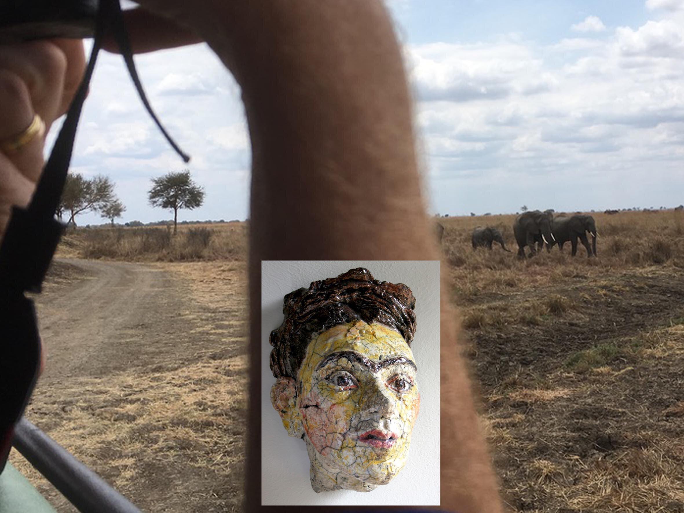 Joost Lijbaart, olifanten, Frida Kahlo