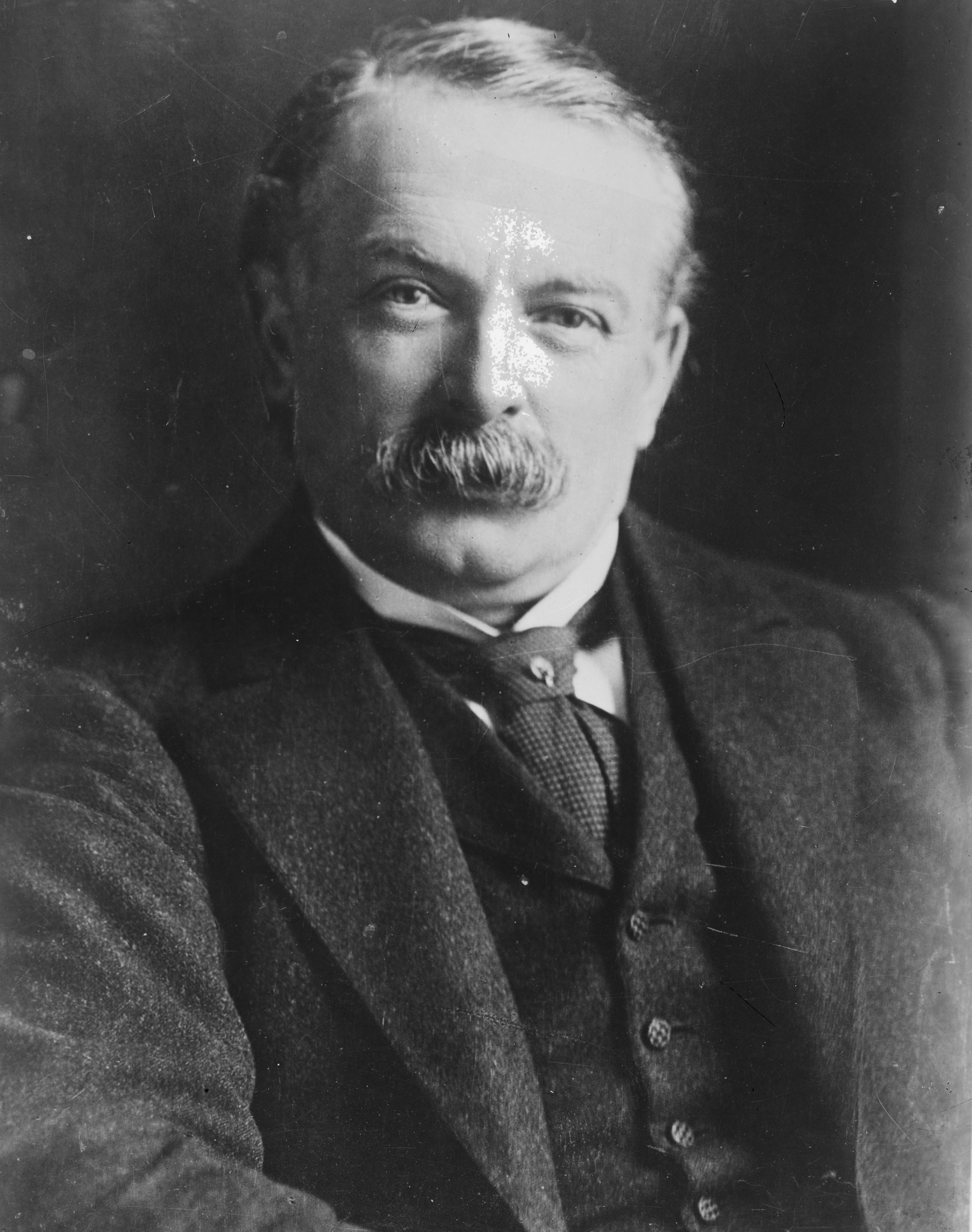 David Lloyd George, who became Prime Minister of Great Britain in December 1916.