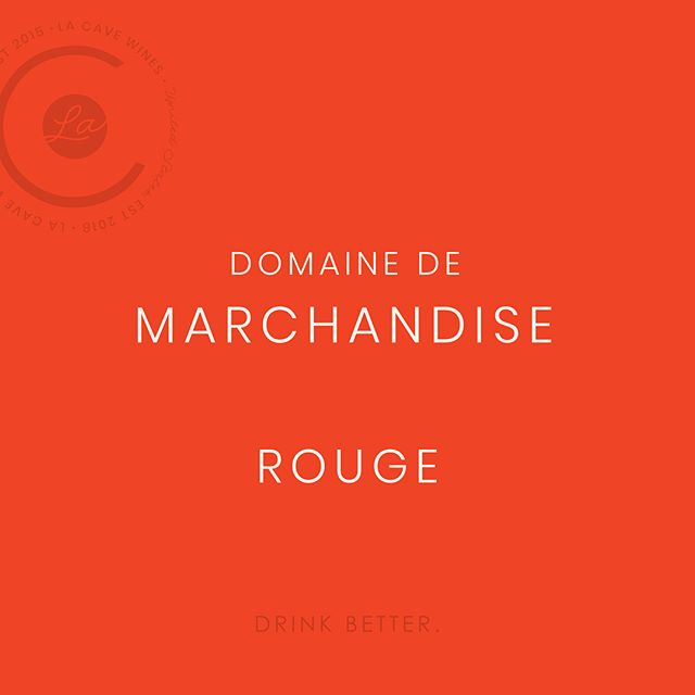 Marine Chauvier, the winemaker at Domaine de Marchandise, has followed in her father and grandfather's footsteps making beautiful wines to continue their 40-year legacy. Her 2016 Rouge is luminous and complex. #girlboss