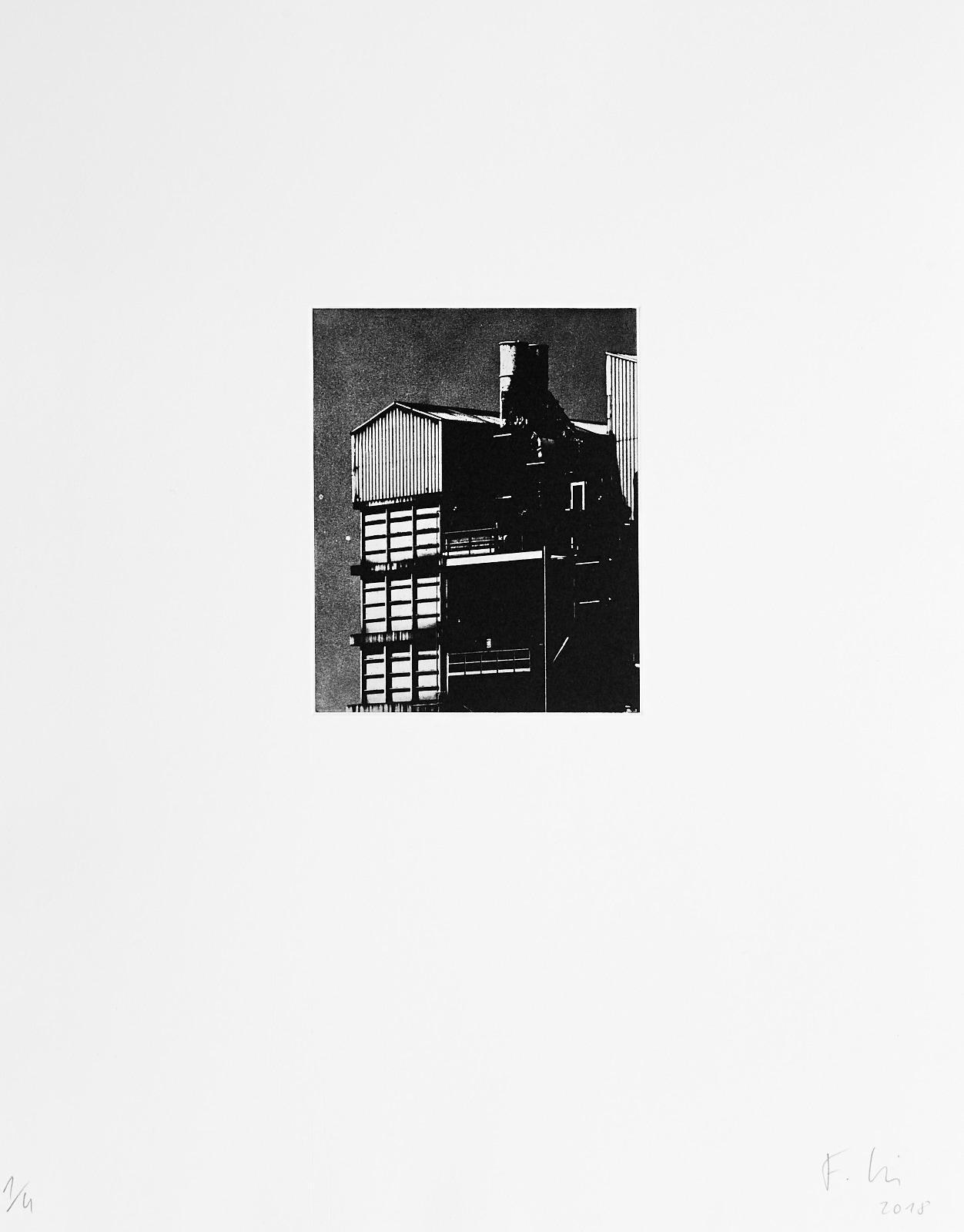 o.T.[Typologien#1]  (2018)  medium: Photogravure  size: 36 x 46 cm  paper: Zerkall 270 g/qm  plate: 11.7 x 14.7 cm  edition: 6 copies  numbered: 1/4 - 4/4, 2 e.a.  printer: FWU