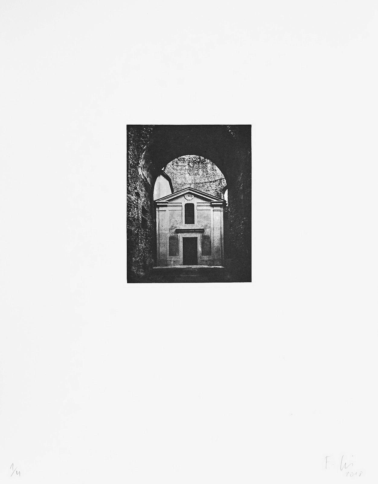 o.T.[Typologien#6]  (2018)  medium: Photogravure  size: 36 x 46 cm  paper: Zerkall 270 g/qm  plate: 11.7 x 14.7 cm  edition: 6 copies  numbered: 1/4 - 4/4, 2 e.a.  printer: FWU