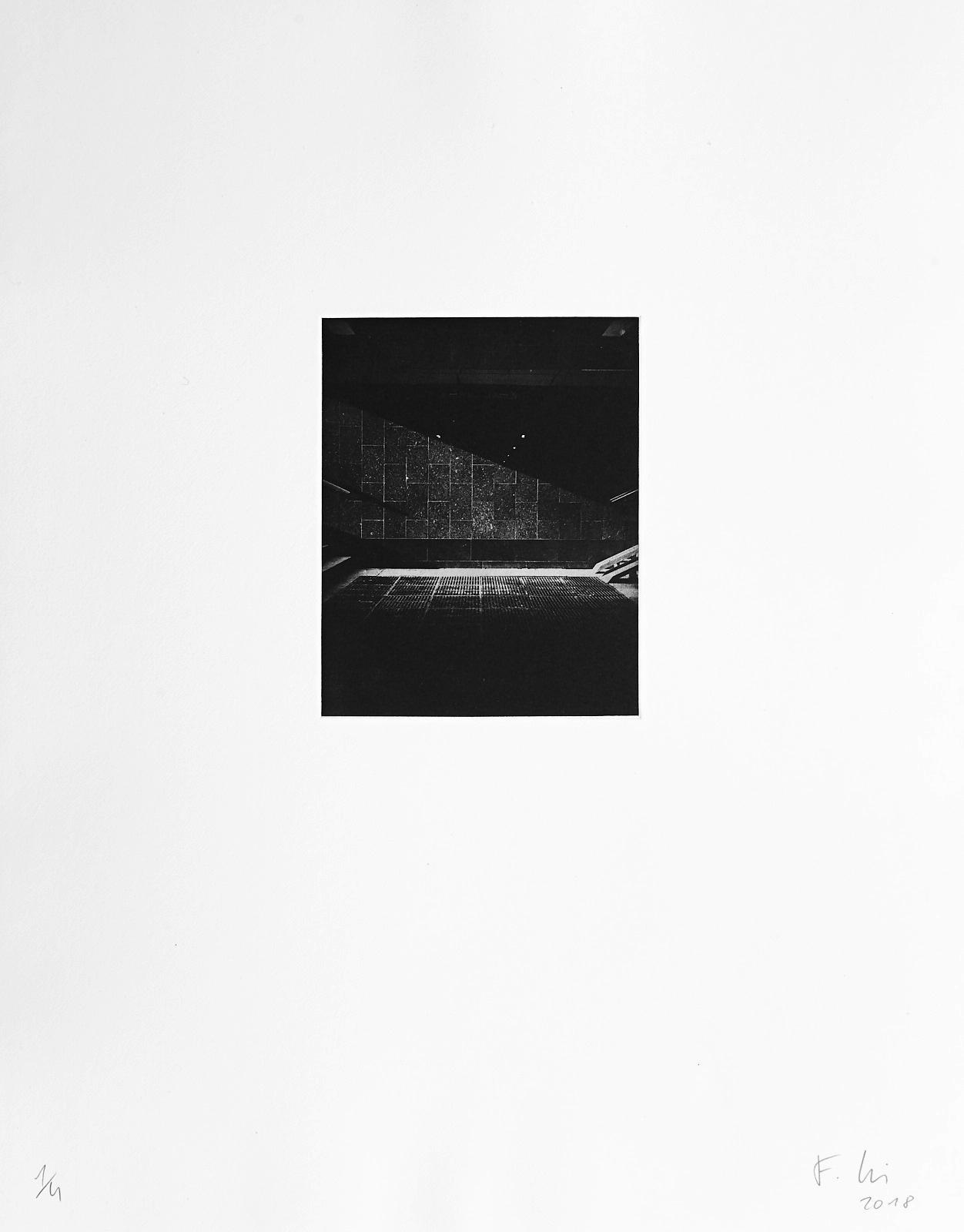 o.T.[Typologien#8]  (2018)  medium: Photogravure  size: 36 x 46 cm  paper: Zerkall 270 g/qm  plate: 11.7 x 14.7 cm  edition: 6 copies  numbered: 1/4 - 4/4, 2 e.a.  printer: FWU