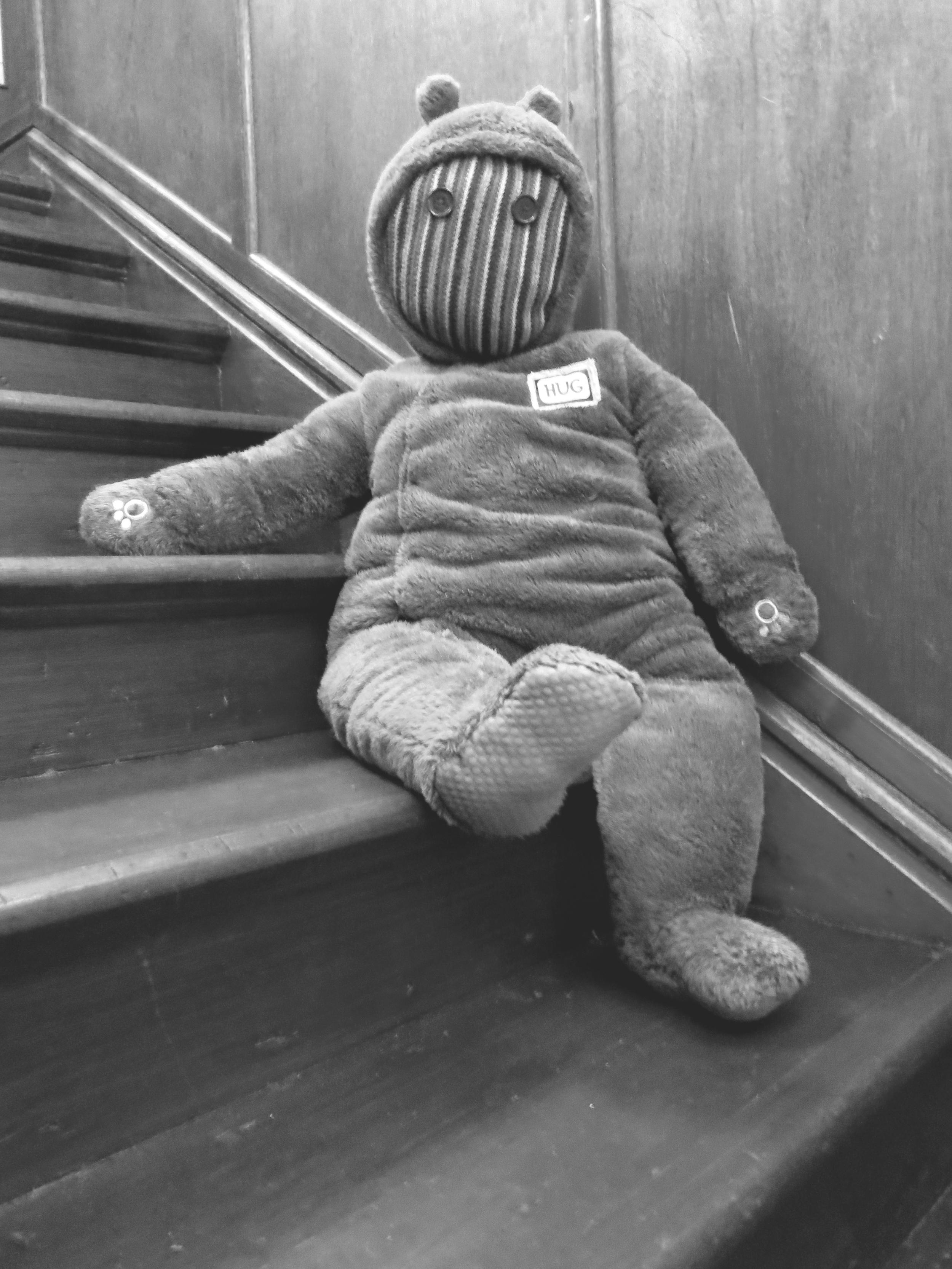 B & W stair bear 2.jpg